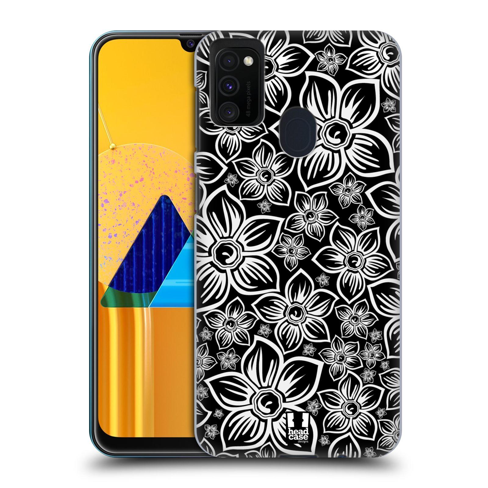 Plastové pouzdro na mobil Samsung Galaxy M21 - Head Case - FLORAL DAISY