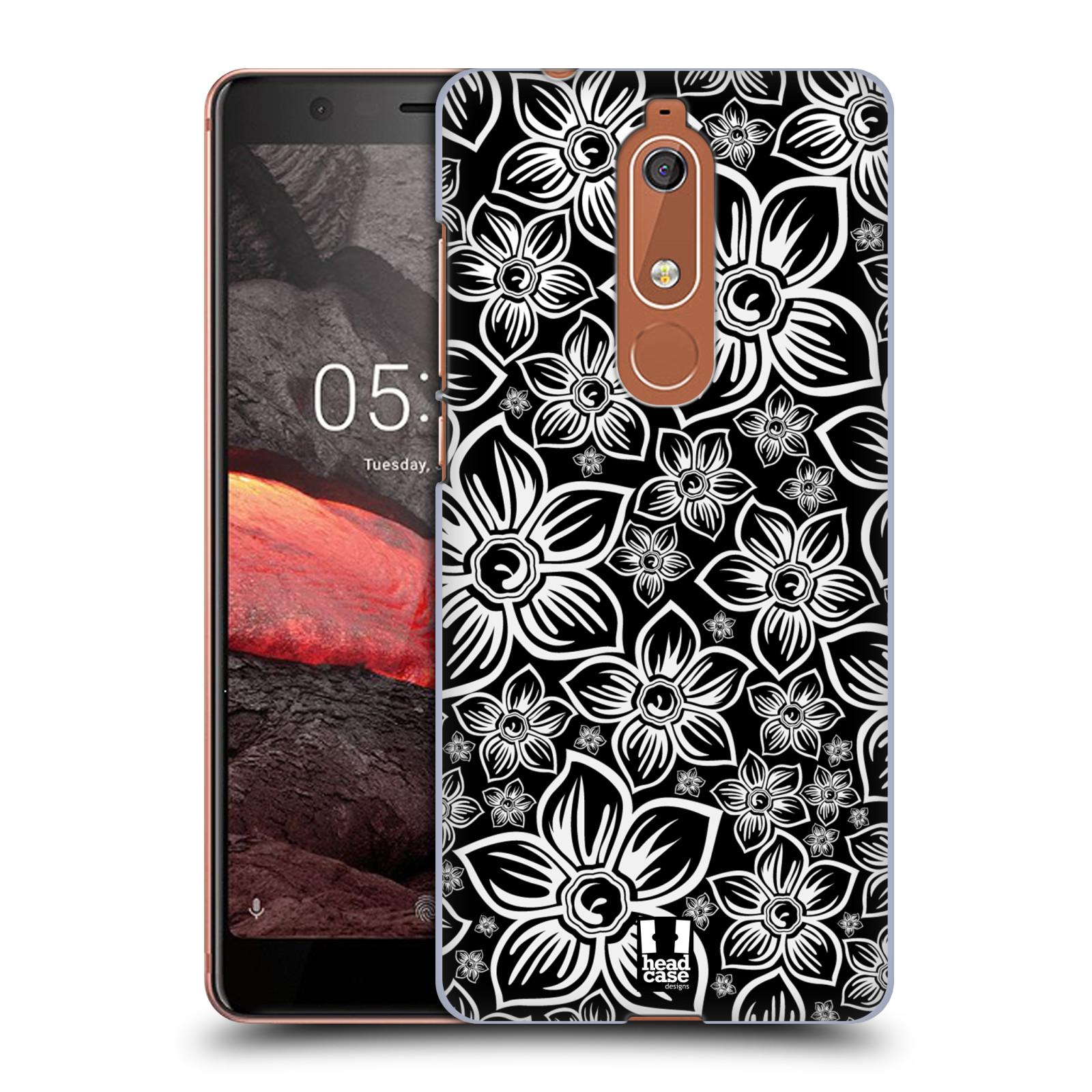 Plastové pouzdro na mobil Nokia 5.1 - Head Case - FLORAL DAISY