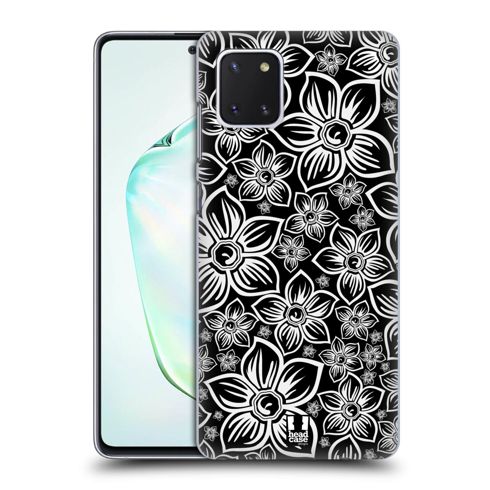 Plastové pouzdro na mobil Samsung Galaxy Note 10 Lite - Head Case - FLORAL DAISY