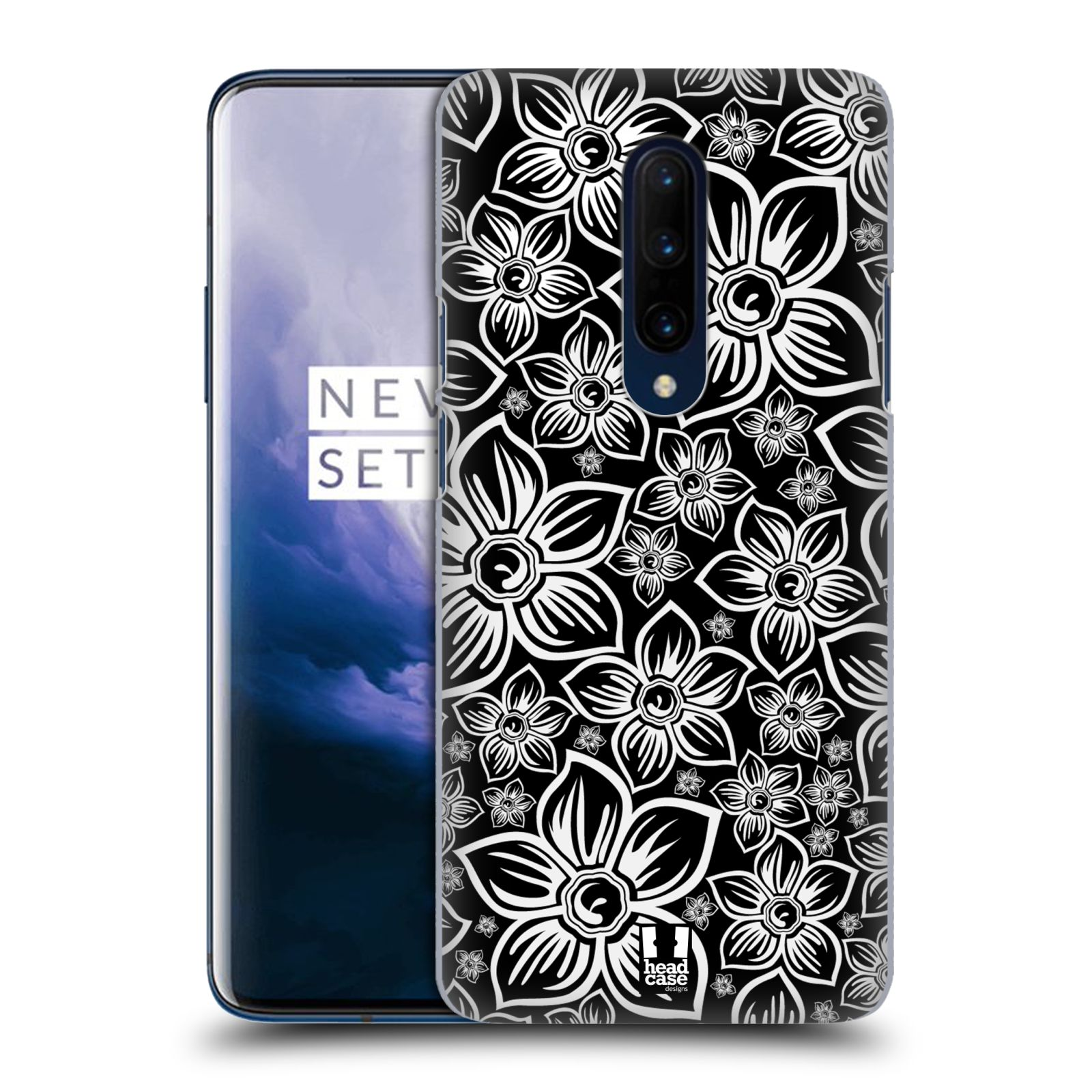 Plastové pouzdro na mobil OnePlus 7 Pro - Head Case - FLORAL DAISY