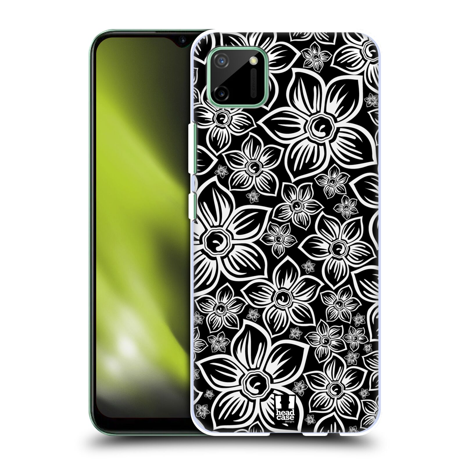 Plastové pouzdro na mobil Realme C11 - Head Case - FLORAL DAISY