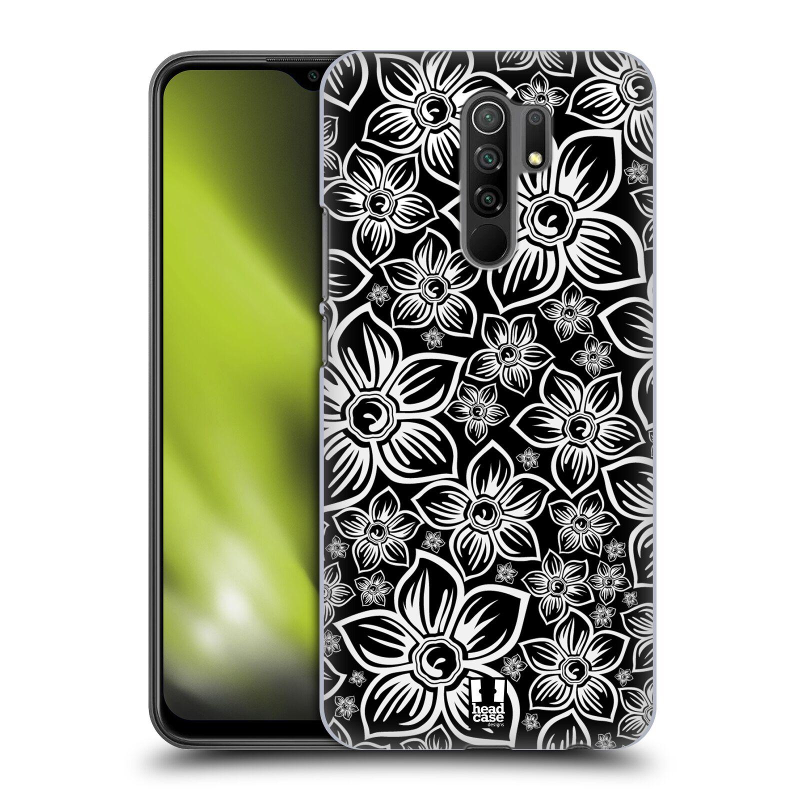 Plastové pouzdro na mobil Xiaomi Redmi 9 - Head Case - FLORAL DAISY