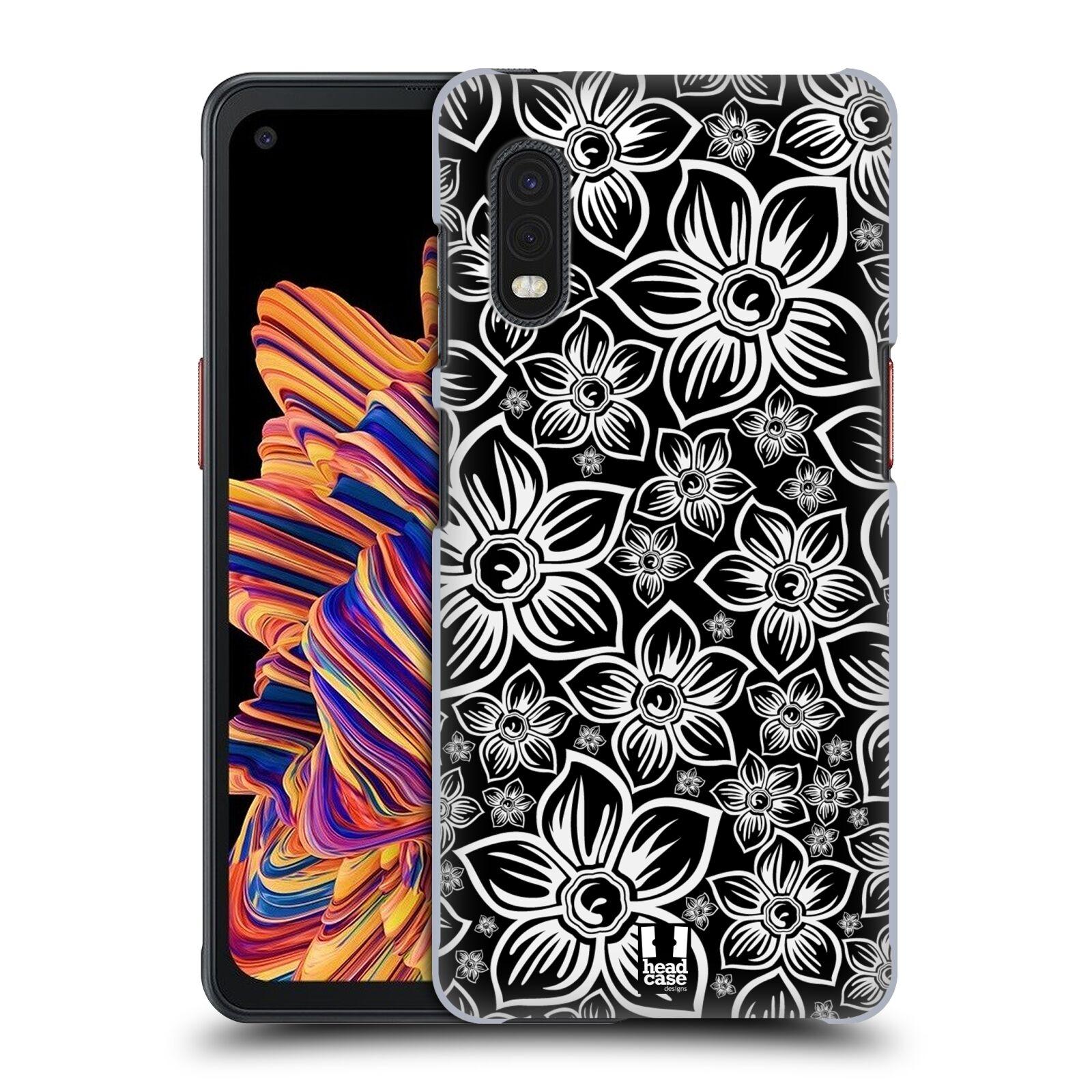 Plastové pouzdro na mobil Samsung Galaxy Xcover Pro - Head Case - FLORAL DAISY