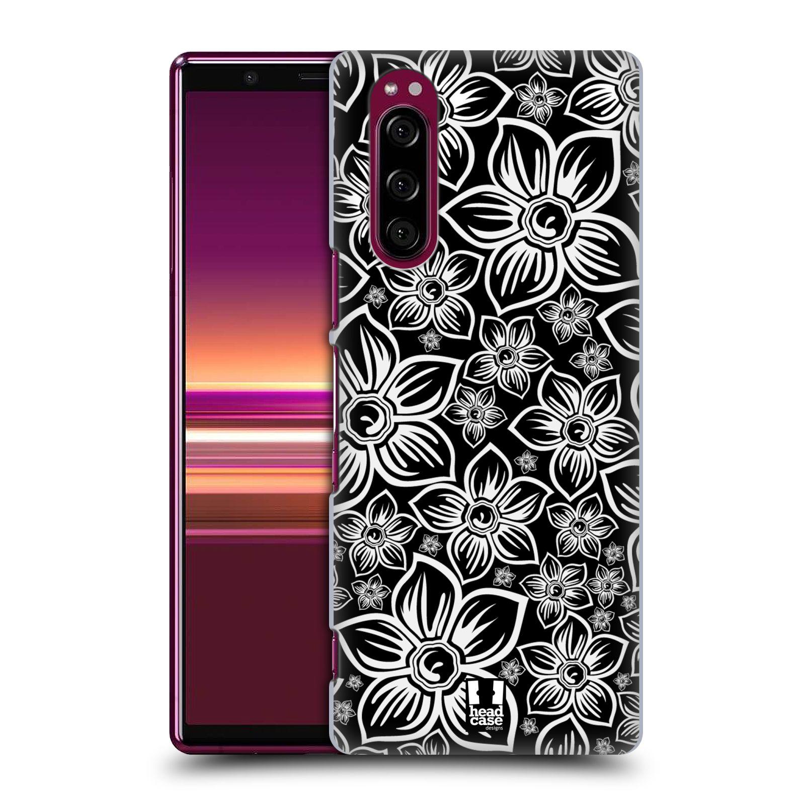 Plastové pouzdro na mobil Sony Xperia 5 - Head Case - FLORAL DAISY