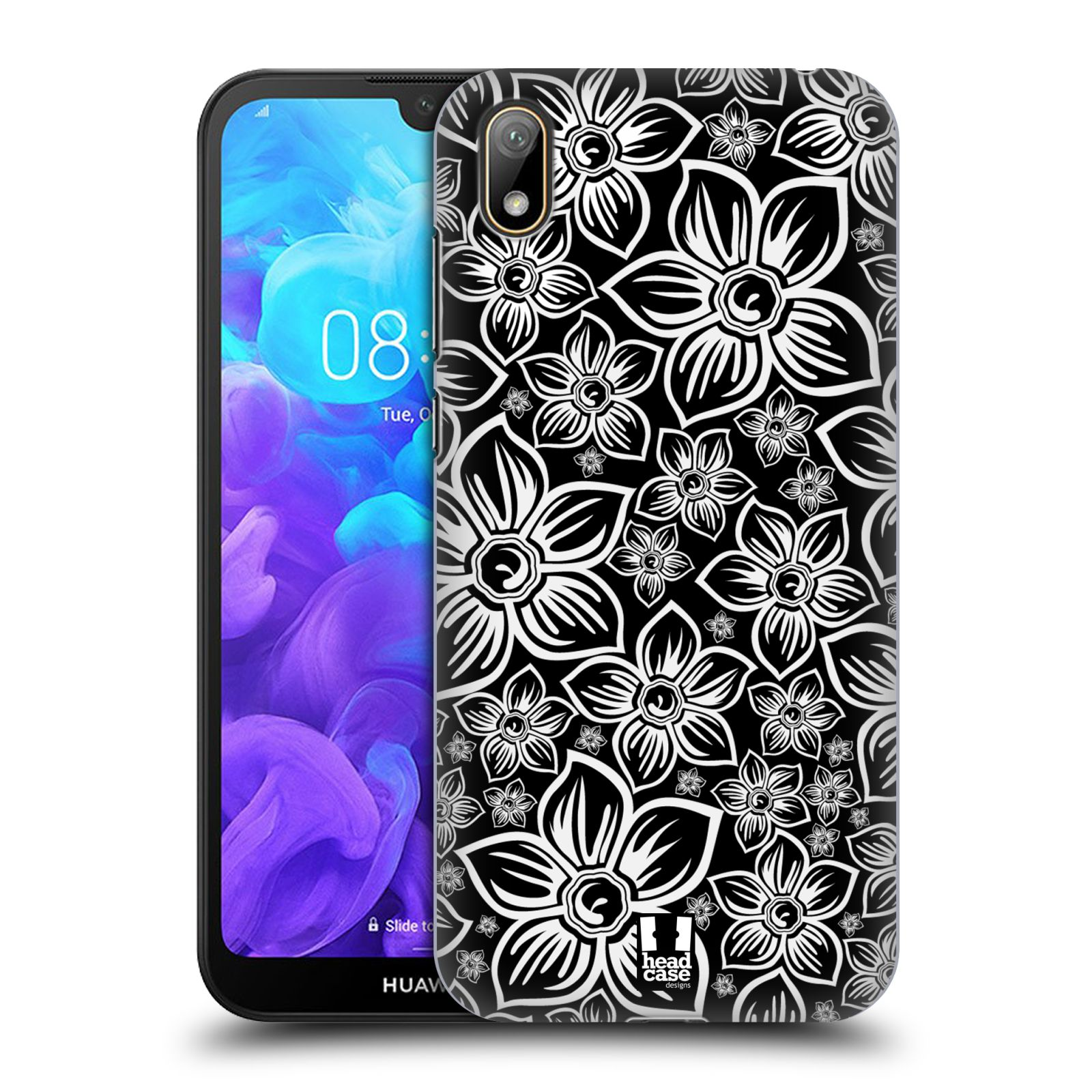 Plastové pouzdro na mobil Honor 8S - Head Case - FLORAL DAISY