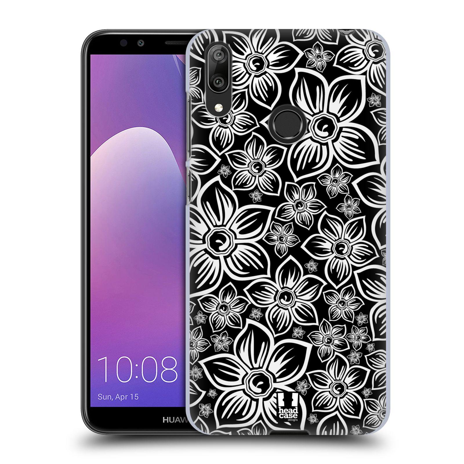 Plastové pouzdro na mobil Huawei Y7 (2019) - Head Case - FLORAL DAISY