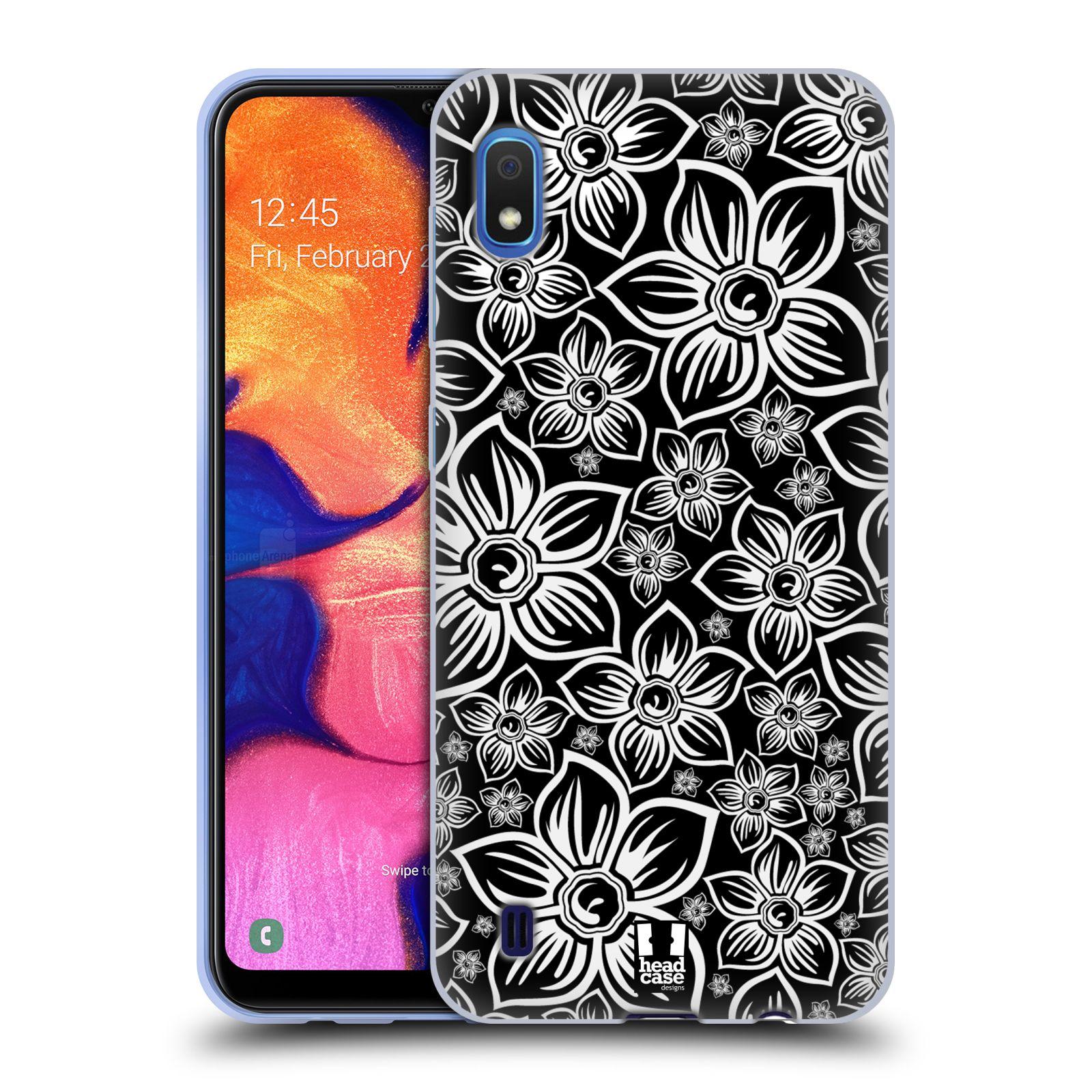 Silikonové pouzdro na mobil Samsung Galaxy A10 - Head Case - FLORAL DAISY