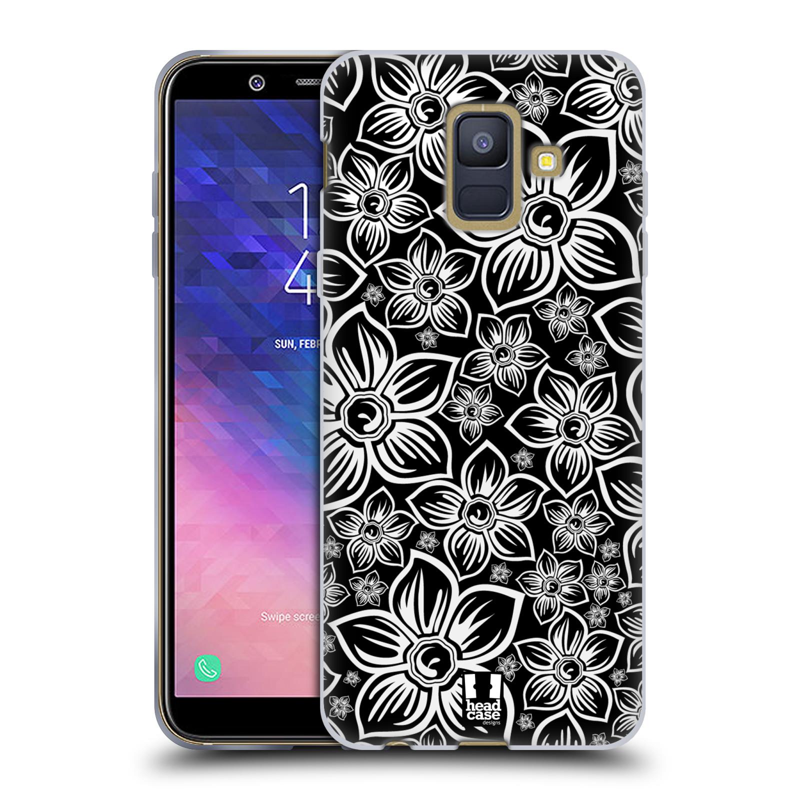 Silikonové pouzdro na mobil Samsung Galaxy A6 (2018) - Head Case - FLORAL DAISY