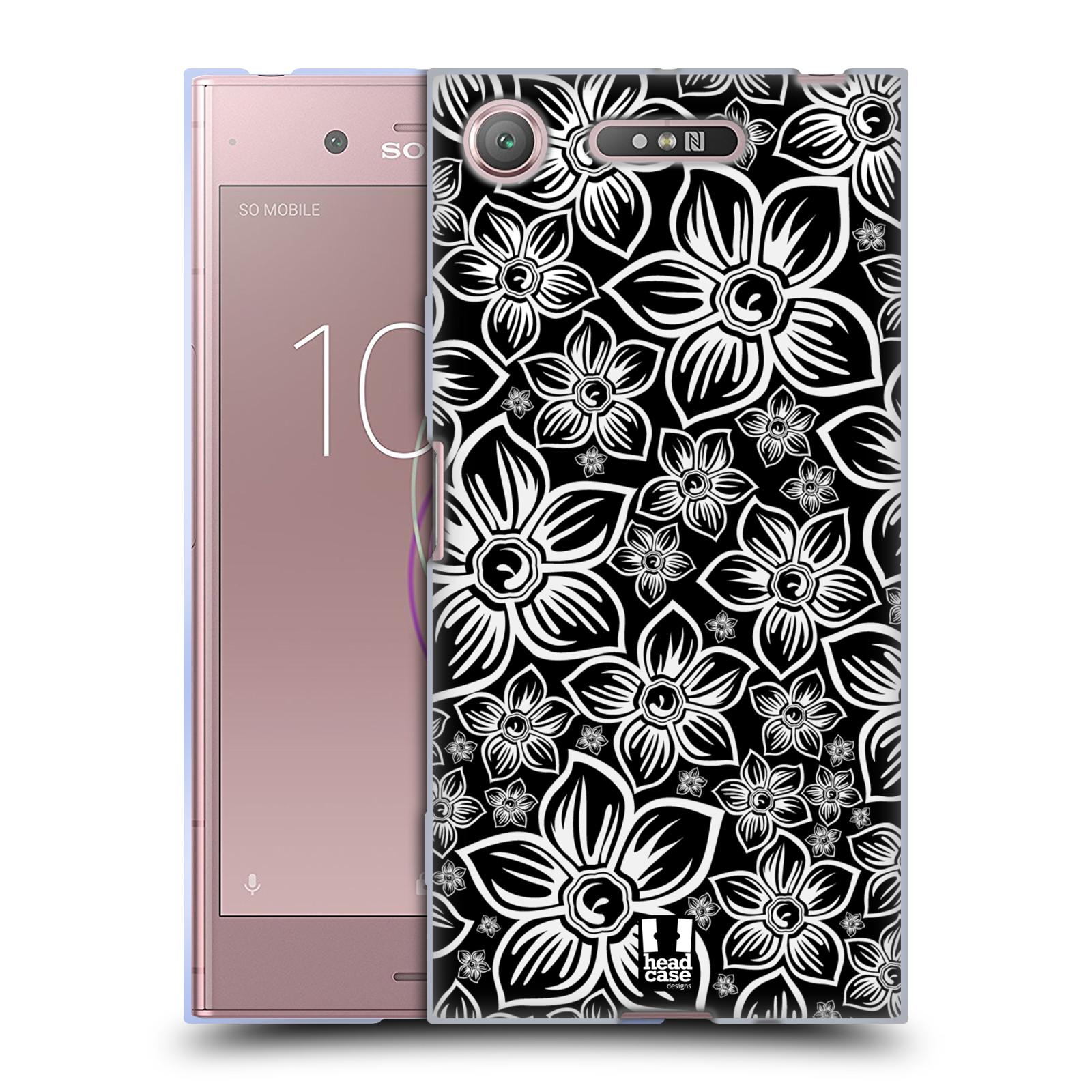 Silikonové pouzdro na mobil Sony Xperia XZ1 - Head Case - FLORAL DAISY