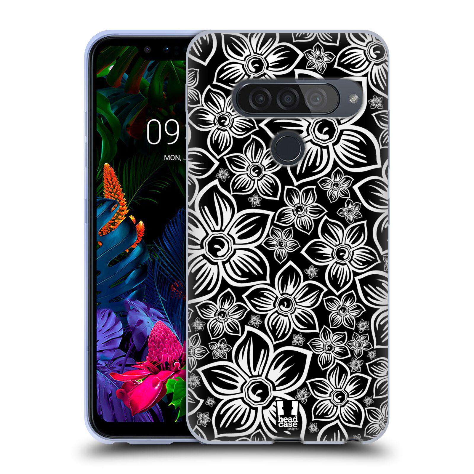 Silikonové pouzdro na mobil LG G8s ThinQ - Head Case - FLORAL DAISY