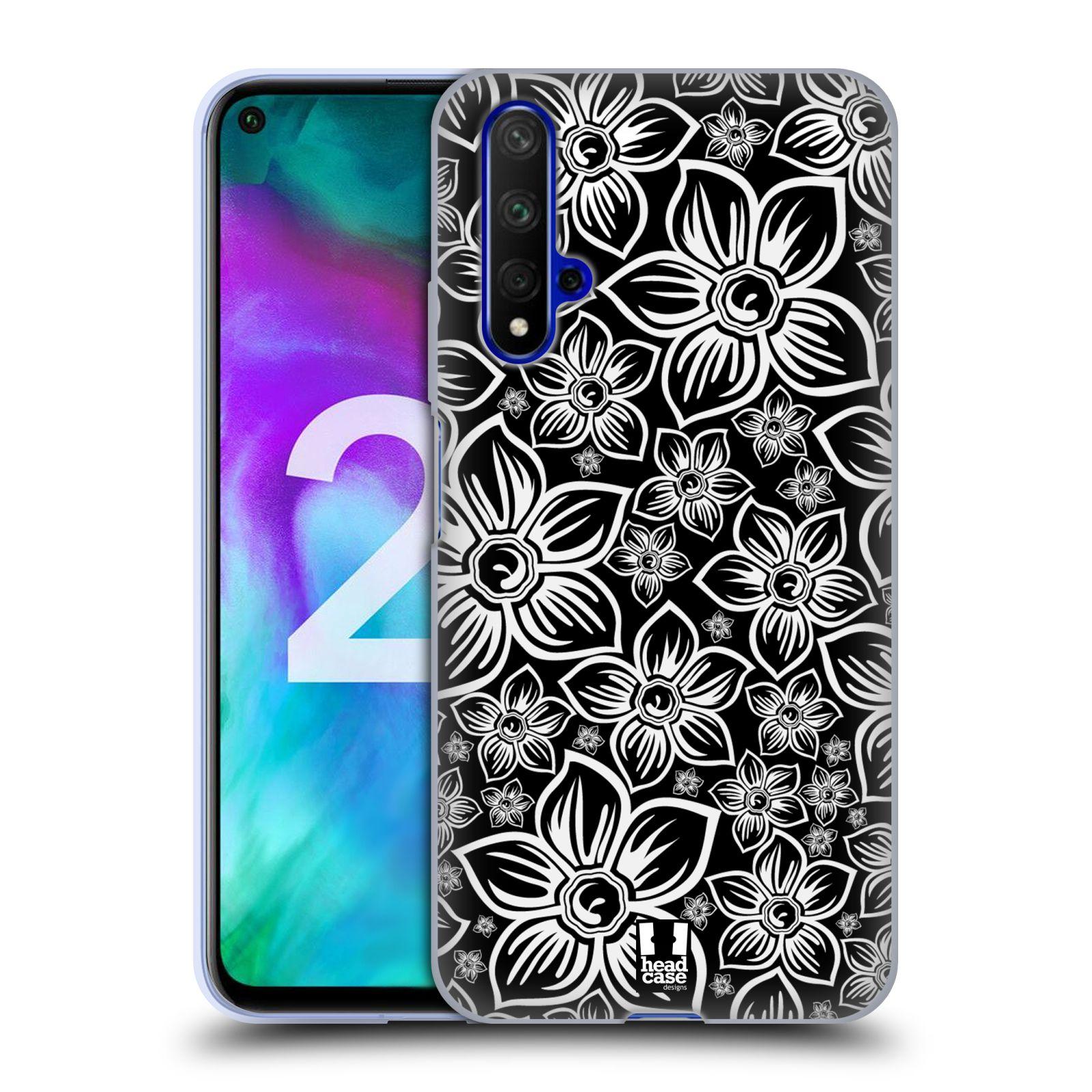 Silikonové pouzdro na mobil Honor 20 - Head Case - FLORAL DAISY