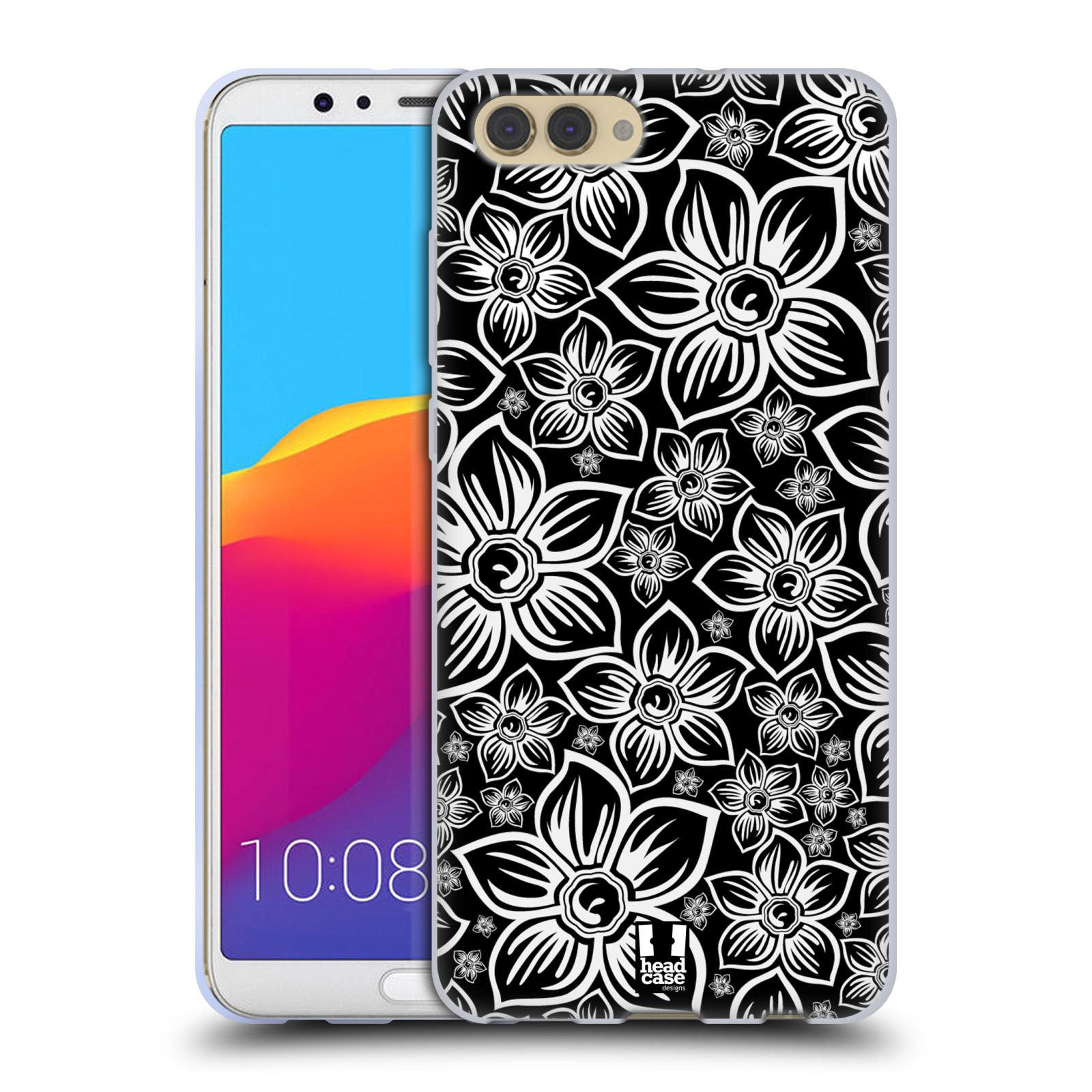 Silikonové pouzdro na mobil Honor View 10 - Head Case - FLORAL DAISY
