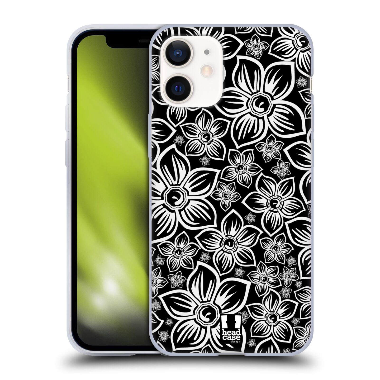 Silikonové pouzdro na mobil Apple iPhone 12 Mini - Head Case - FLORAL DAISY