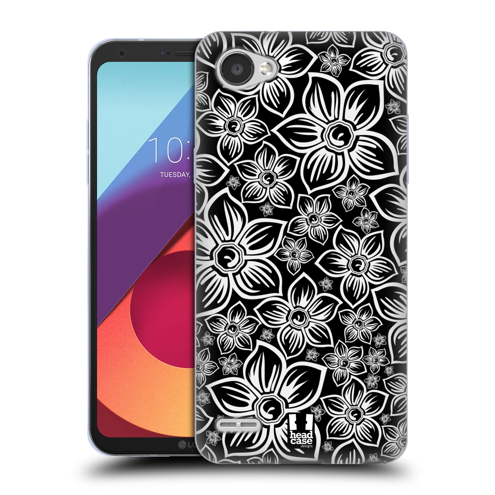 Silikonové pouzdro na mobil LG Q6 - Head Case - FLORAL DAISY