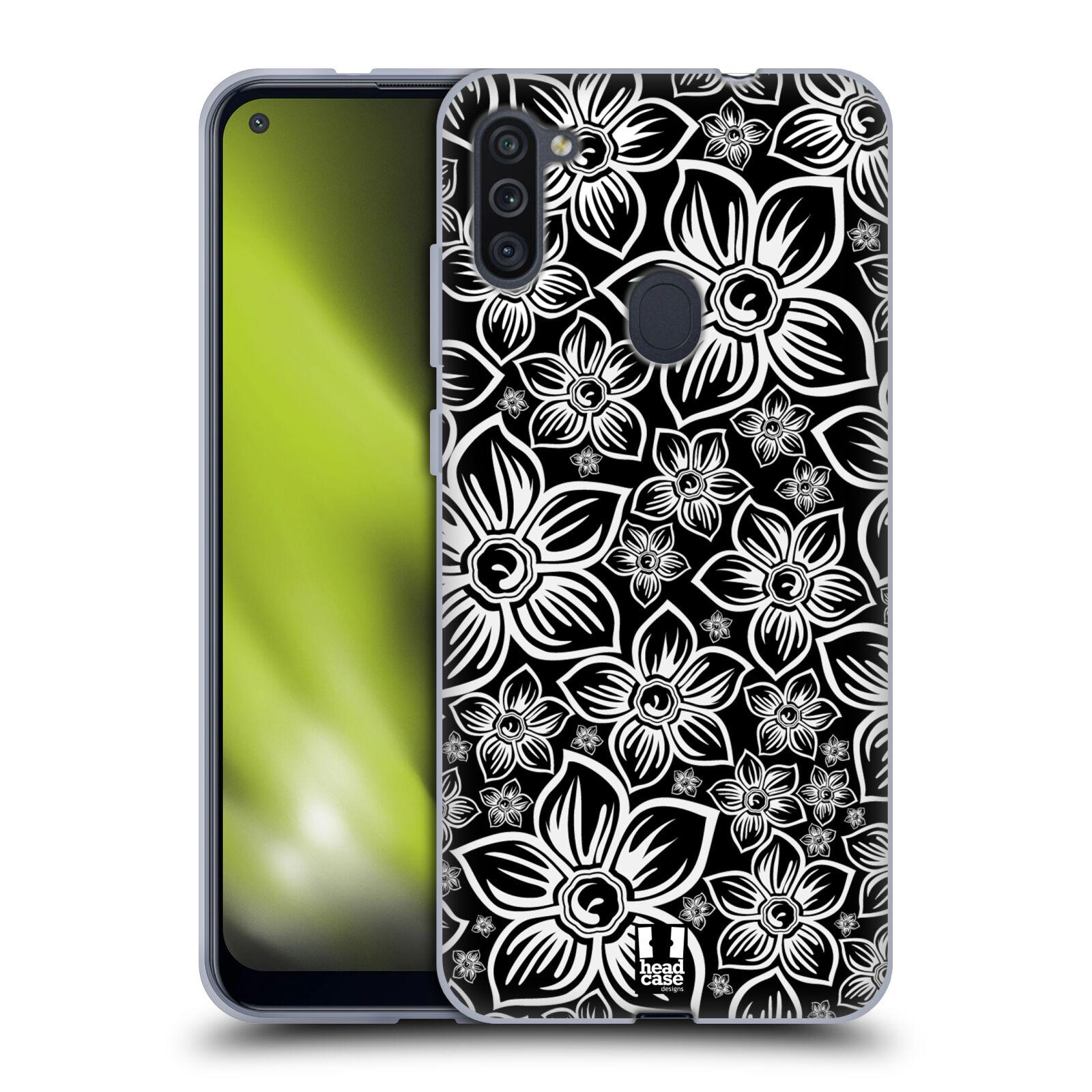 Silikonové pouzdro na mobil Samsung Galaxy M11 - Head Case - FLORAL DAISY