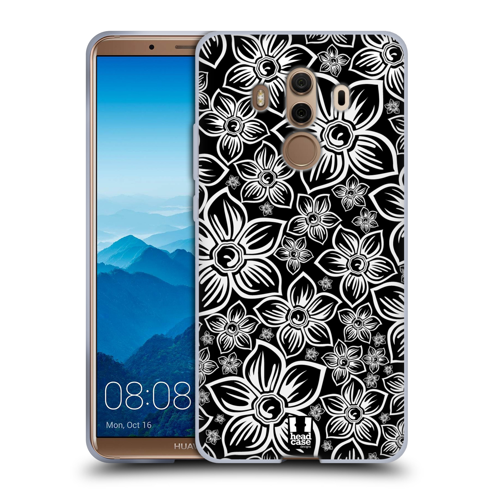 Silikonové pouzdro na mobil Huawei Mate 10 Pro - Head Case - FLORAL DAISY