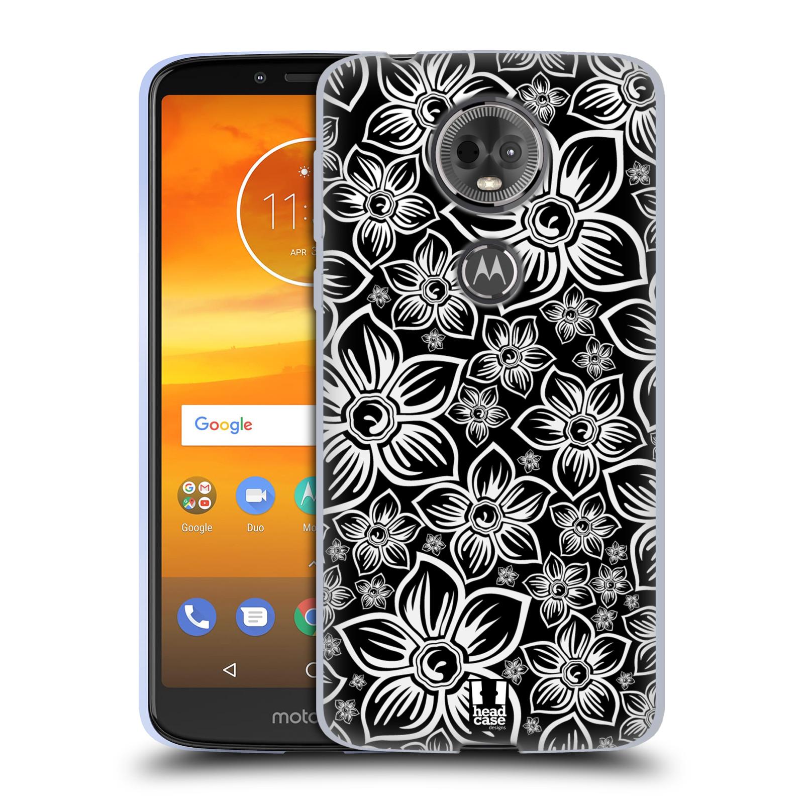 Silikonové pouzdro na mobil Motorola Moto E5 Plus - Head Case - FLORAL DAISY