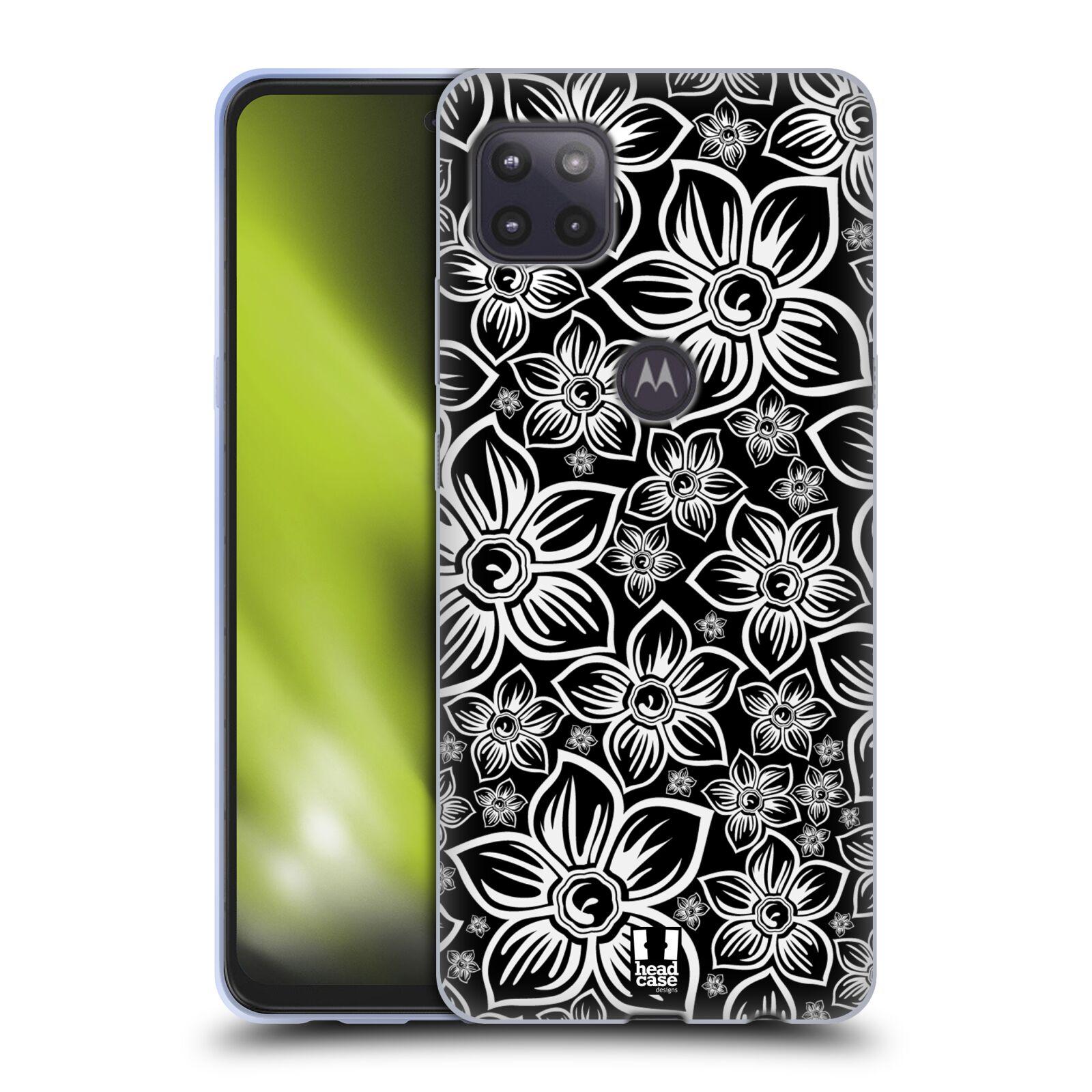 Silikonové pouzdro na mobil Motorola Moto G 5G - Head Case - FLORAL DAISY