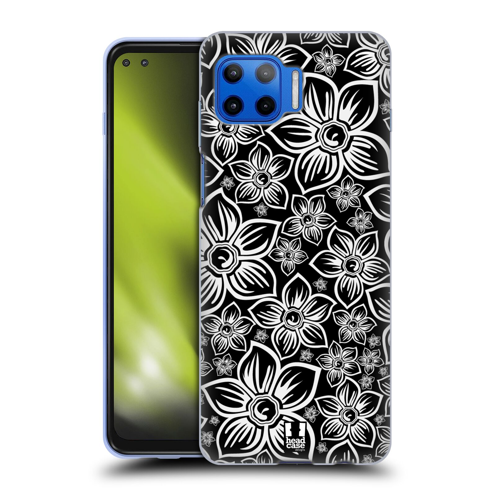 Silikonové pouzdro na mobil Motorola Moto G 5G Plus - Head Case - FLORAL DAISY
