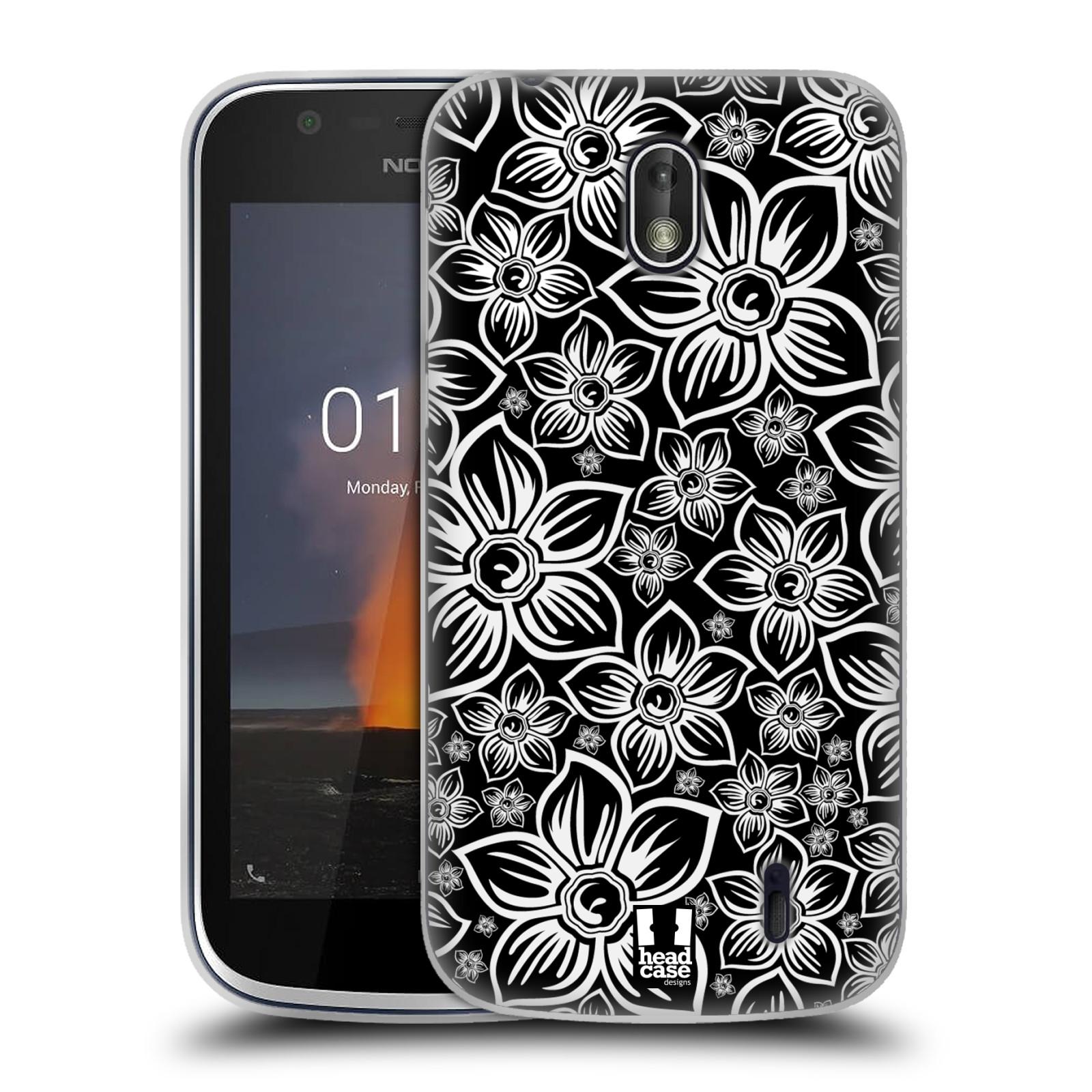Silikonové pouzdro na mobil Nokia 1 - Head Case - FLORAL DAISY