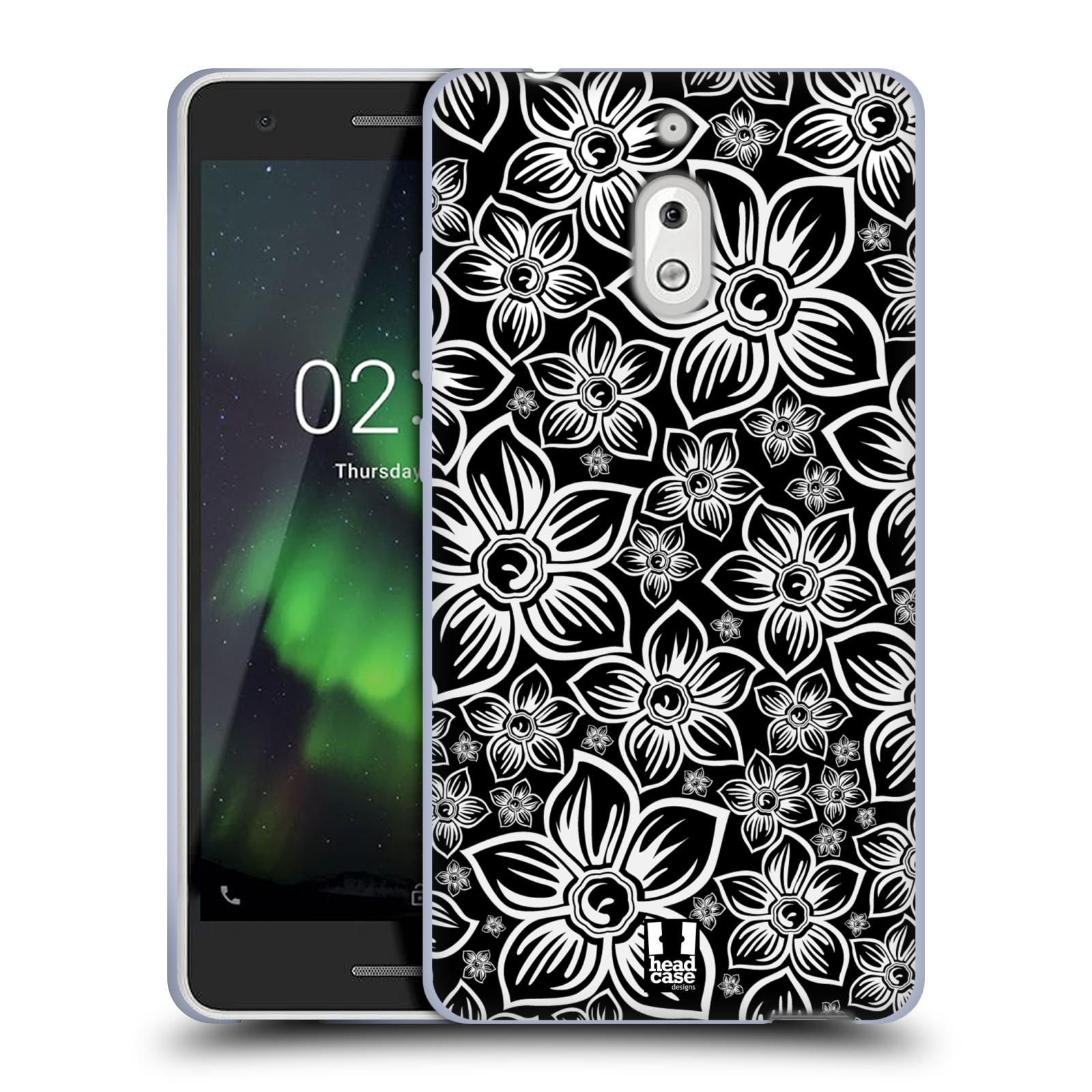 Silikonové pouzdro na mobil Nokia 2.1 - Head Case - FLORAL DAISY