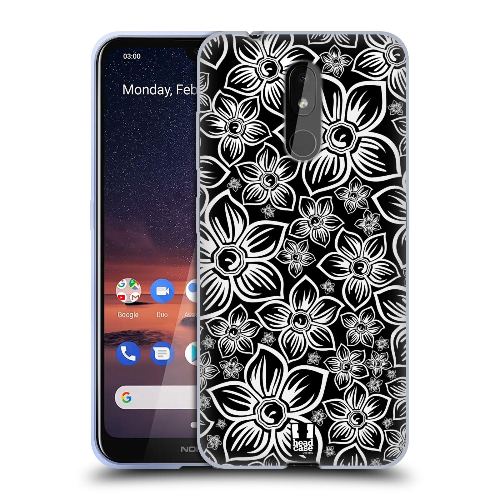 Silikonové pouzdro na mobil Nokia 3.2 - Head Case - FLORAL DAISY