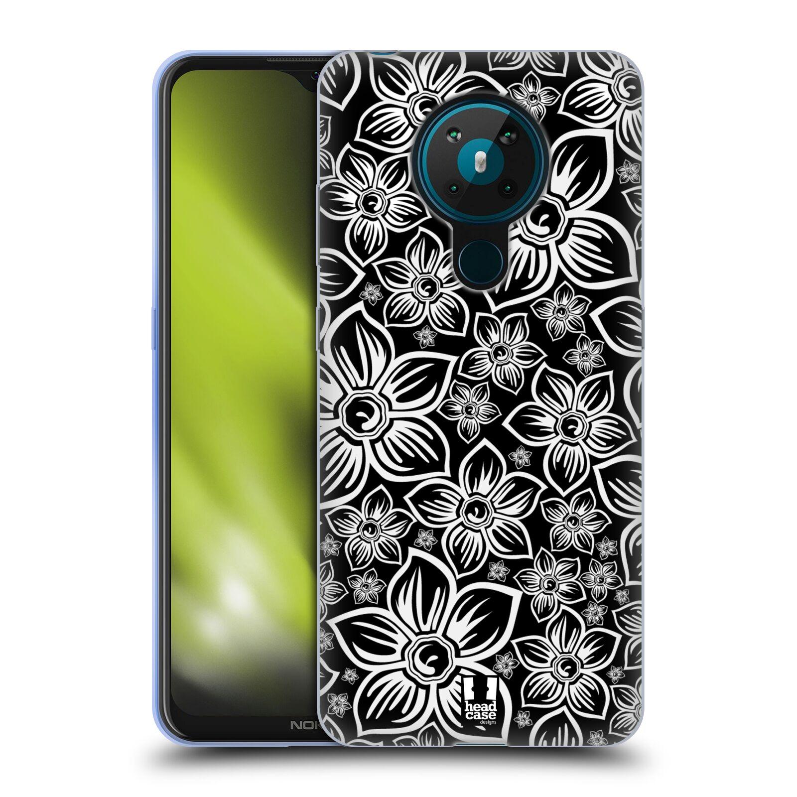 Silikonové pouzdro na mobil Nokia 5.3 - Head Case - FLORAL DAISY