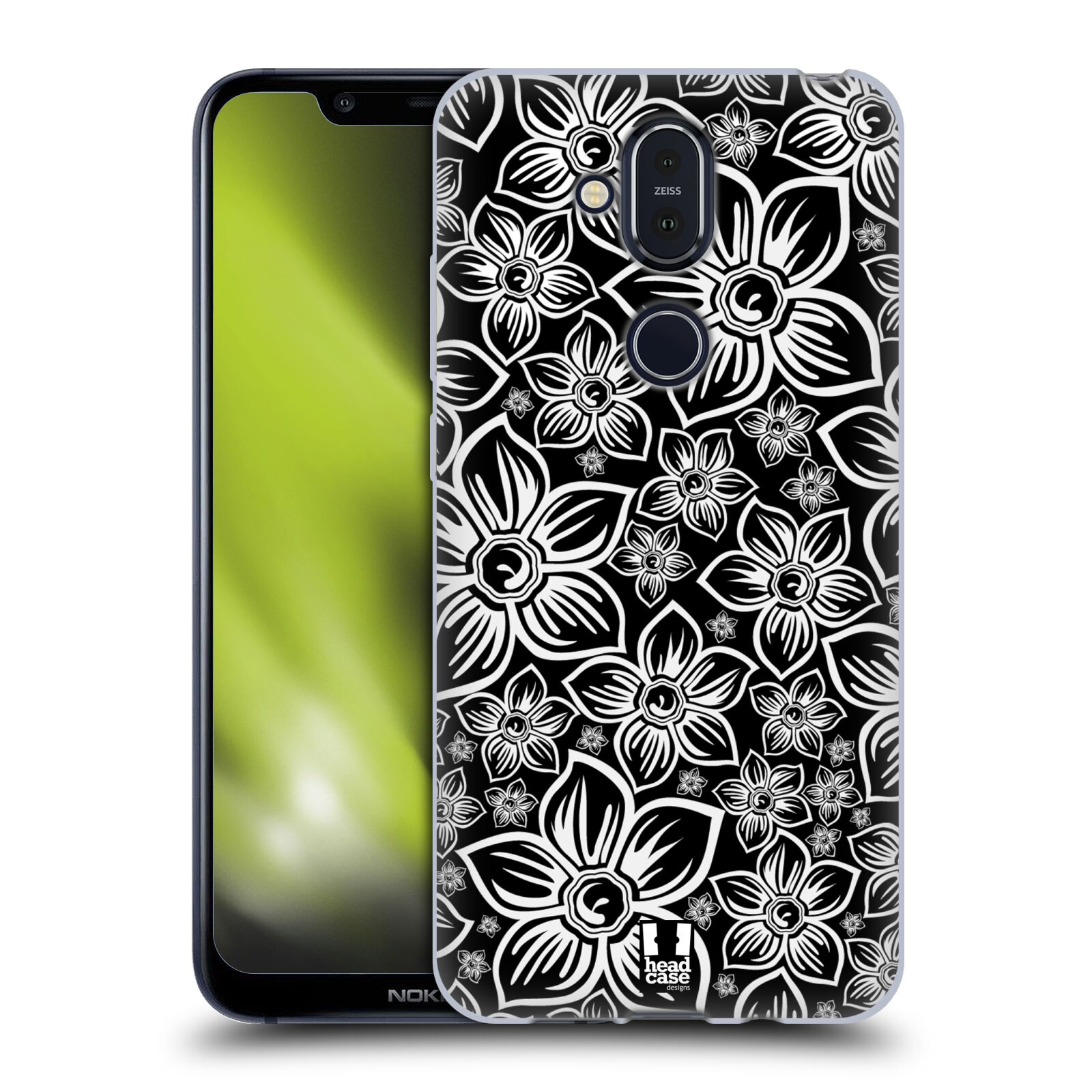 Silikonové pouzdro na mobil Nokia 8.1 - Head Case - FLORAL DAISY