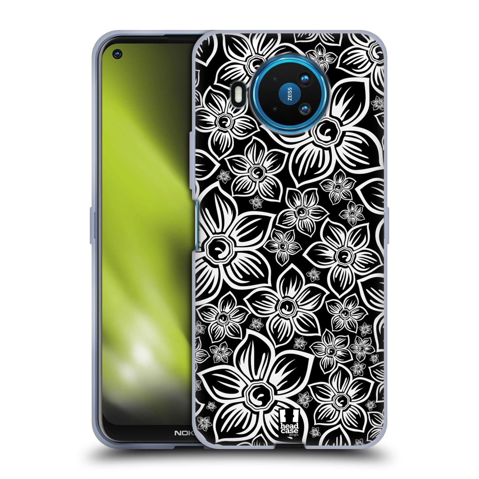 Silikonové pouzdro na mobil Nokia 8.3 5G - Head Case - FLORAL DAISY