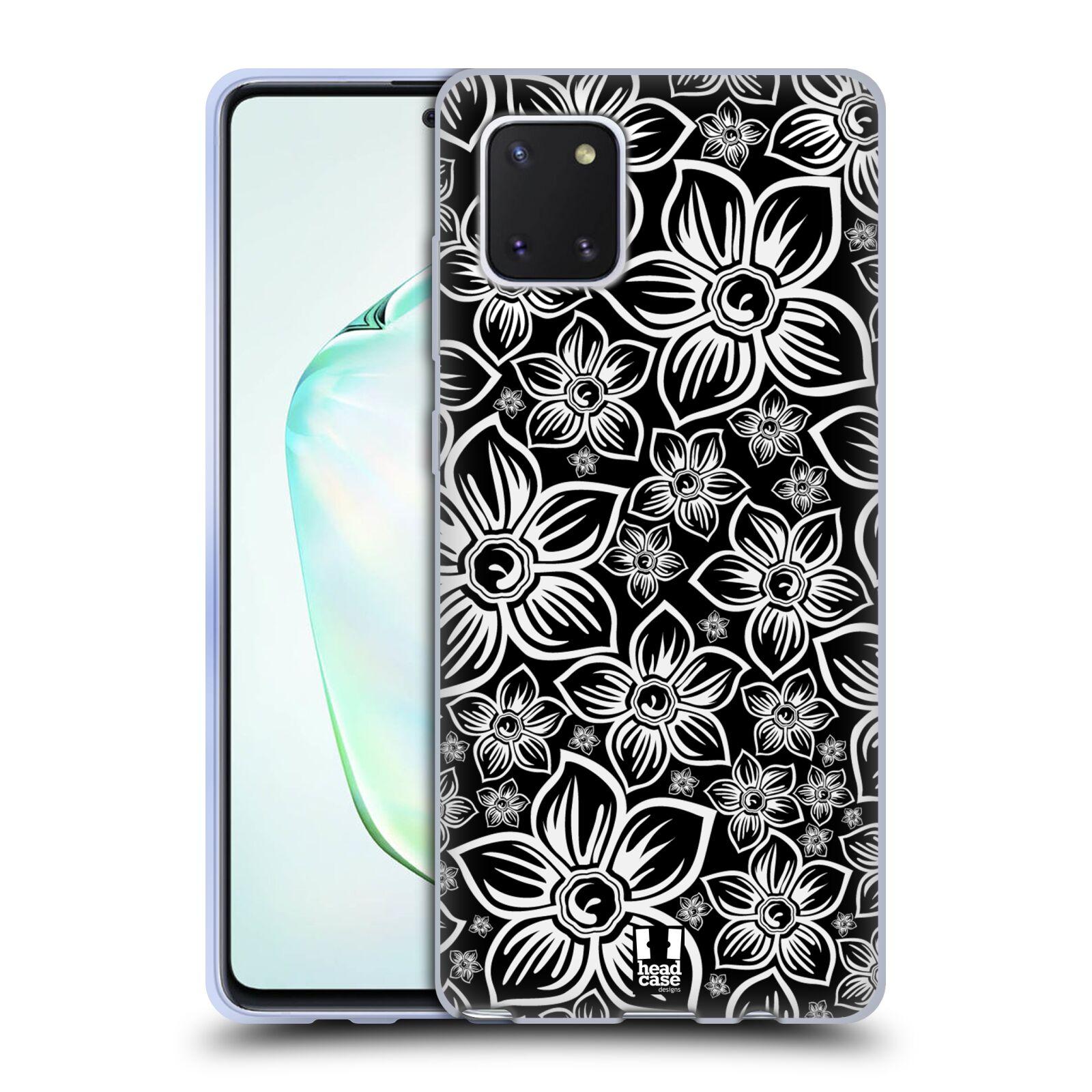 Silikonové pouzdro na mobil Samsung Galaxy Note 10 Lite - Head Case - FLORAL DAISY