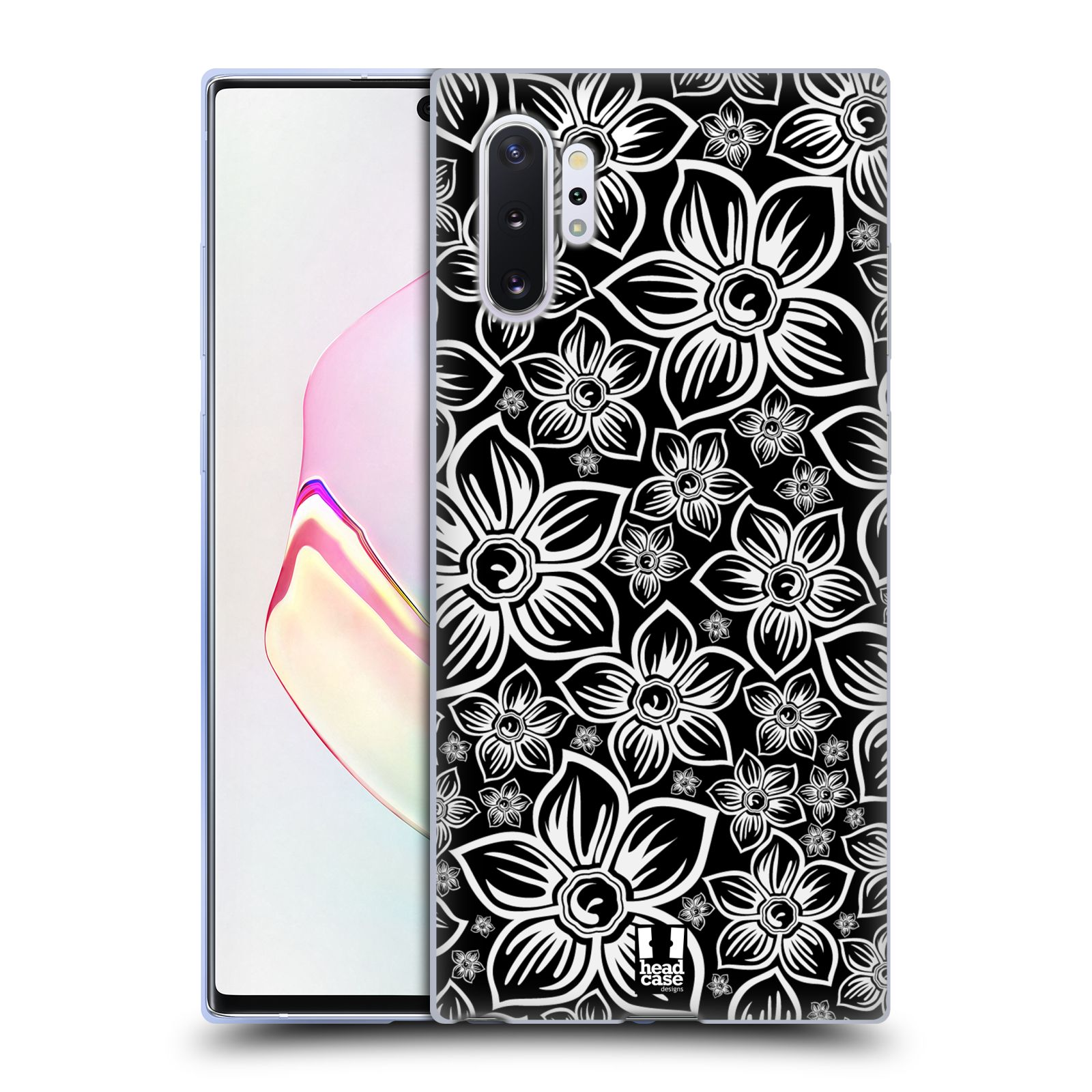 Silikonové pouzdro na mobil Samsung Galaxy Note 10 Plus - Head Case - FLORAL DAISY