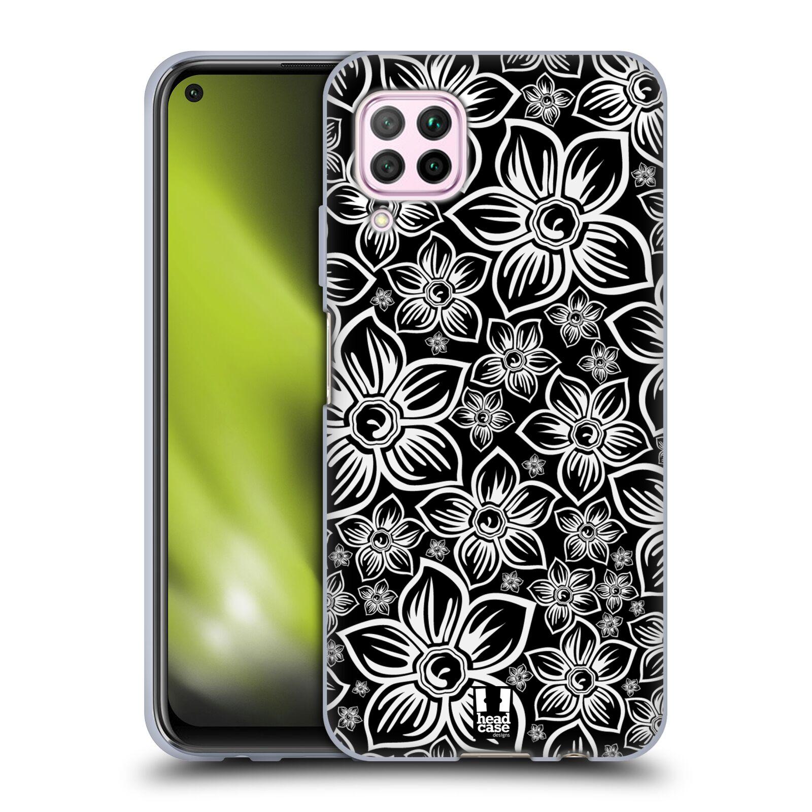 Silikonové pouzdro na mobil Huawei P40 Lite - Head Case - FLORAL DAISY