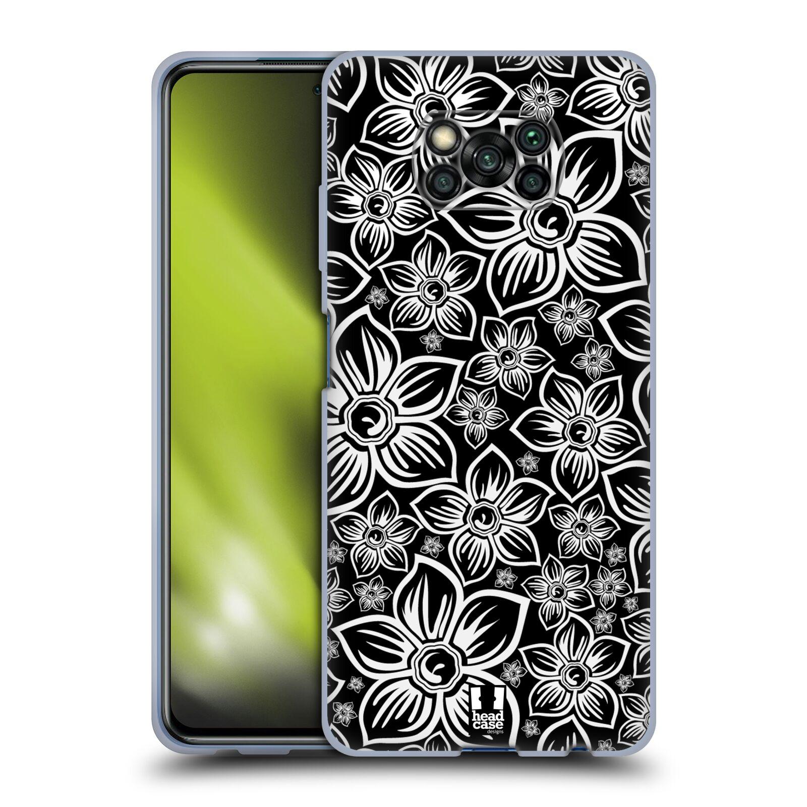 Silikonové pouzdro na mobil Xiaomi Poco X3 NFC - Head Case - FLORAL DAISY