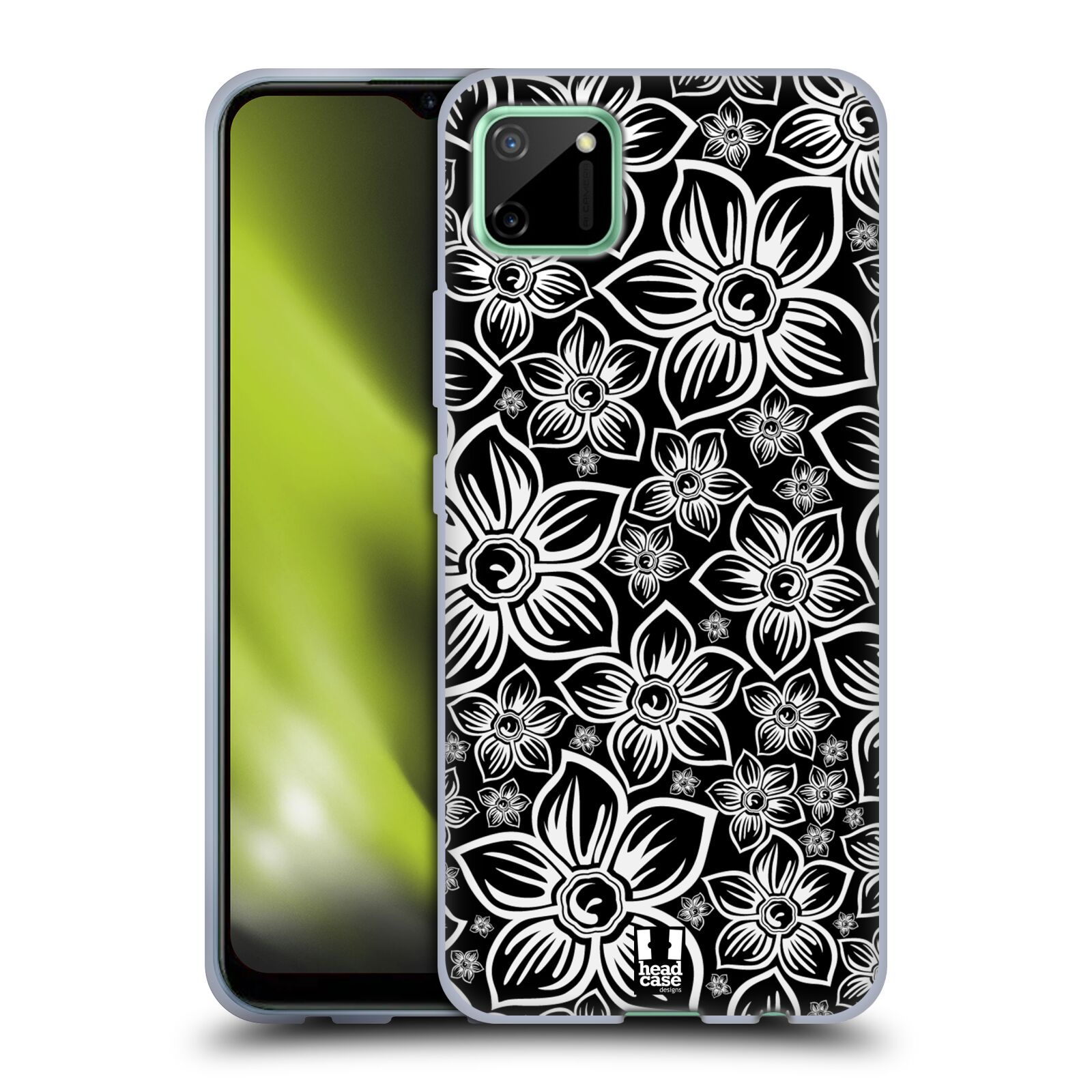 Silikonové pouzdro na mobil Realme C11 - Head Case - FLORAL DAISY