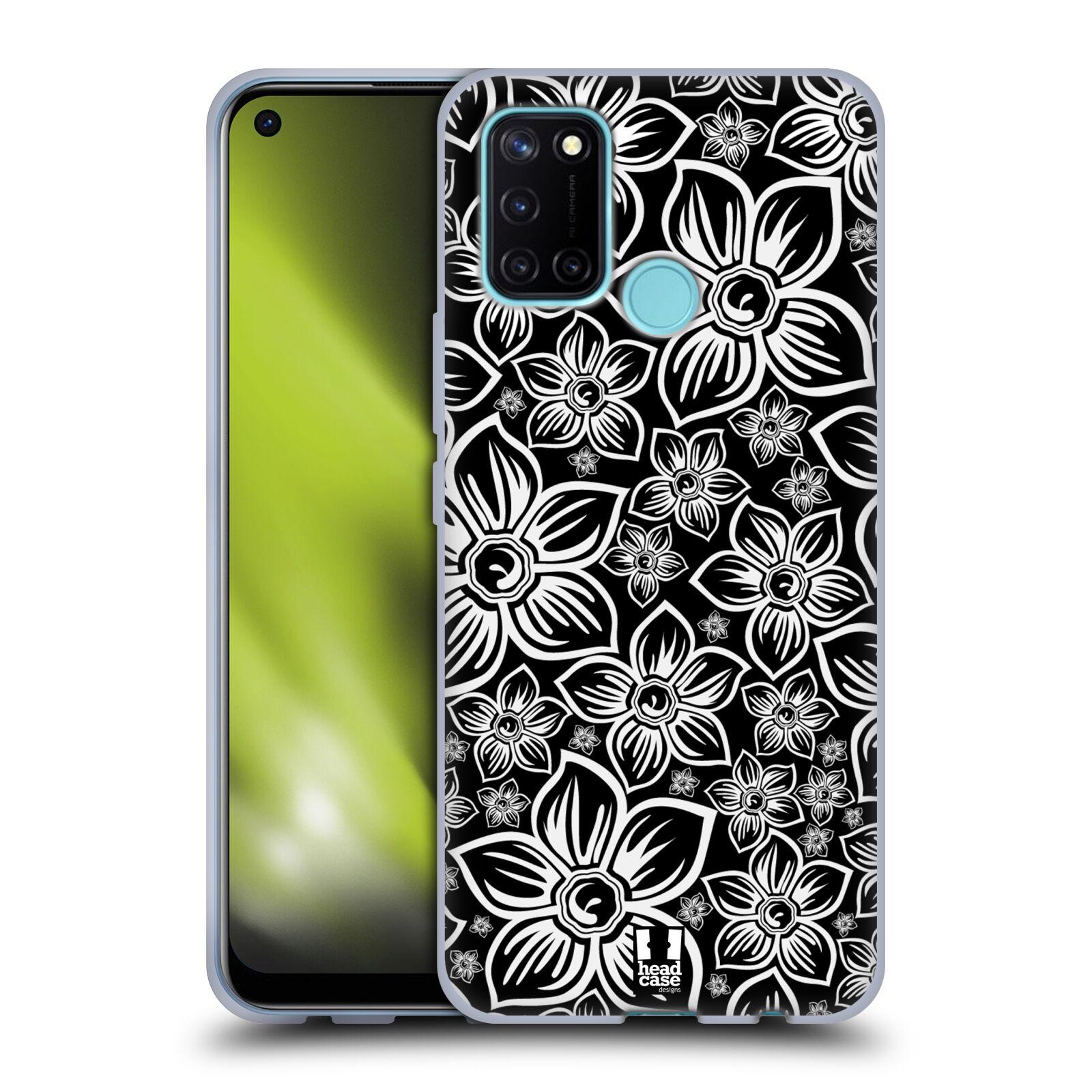 Silikonové pouzdro na mobil Realme 7i - Head Case - FLORAL DAISY