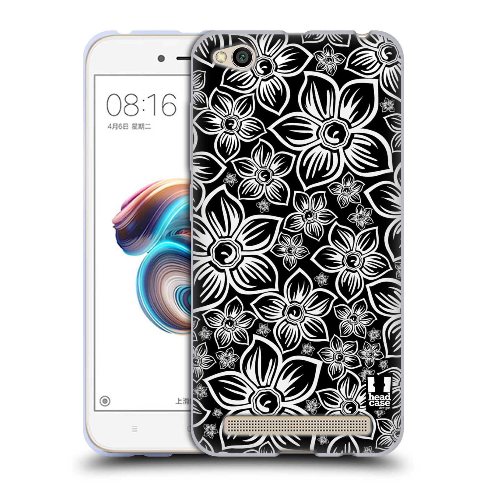 Silikonové pouzdro na mobil Xiaomi Redmi 5A - Head Case - FLORAL DAISY