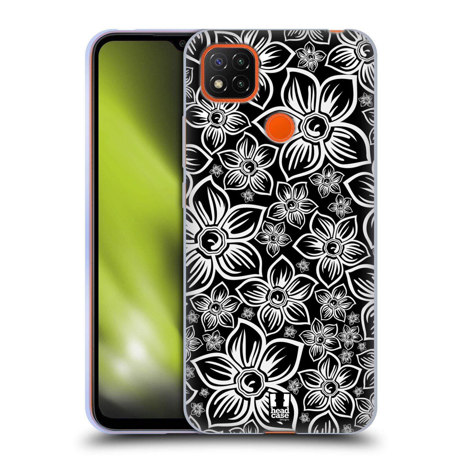 Silikonové pouzdro na mobil Xiaomi Redmi 9C - Head Case - FLORAL DAISY