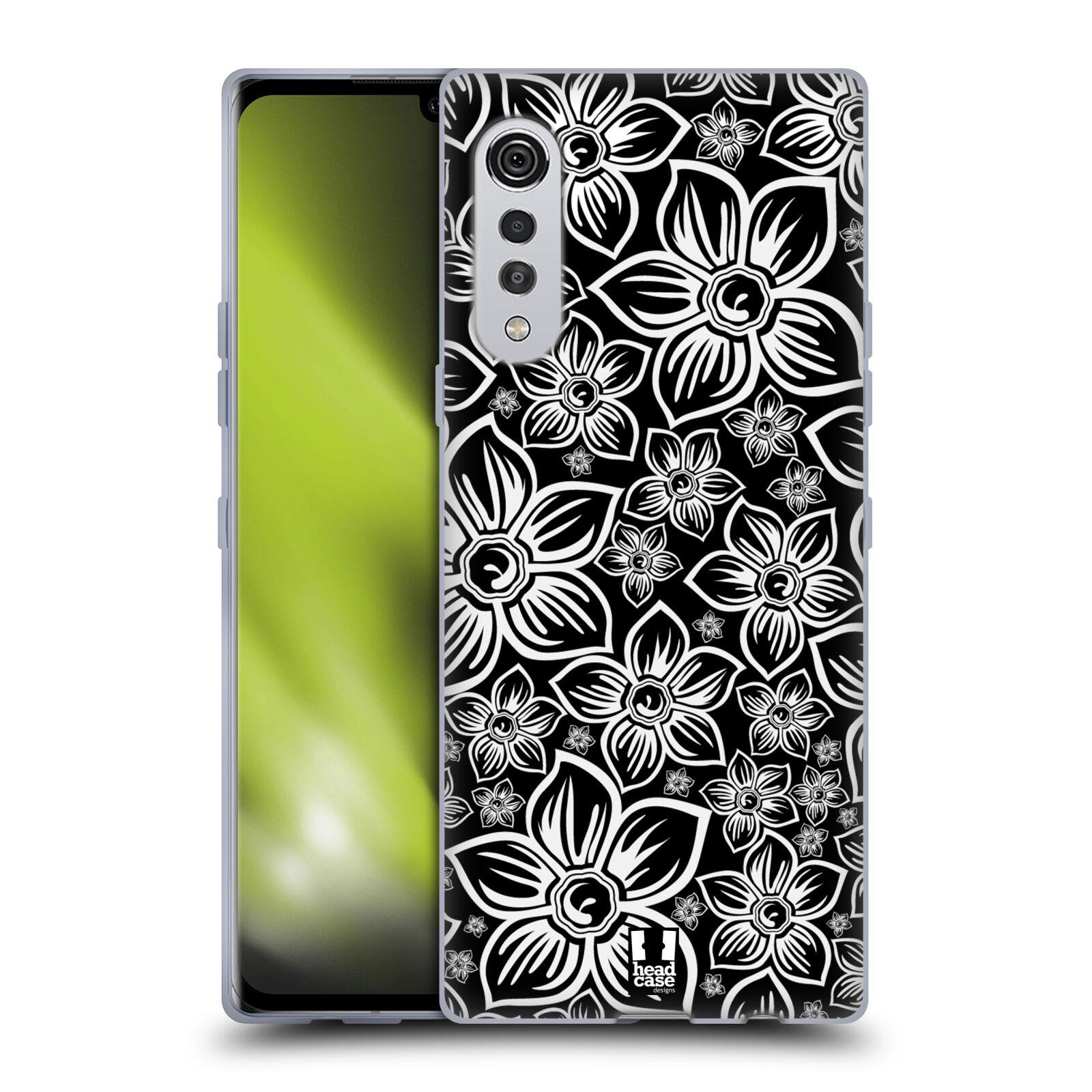 Silikonové pouzdro na mobil LG Velvet - Head Case - FLORAL DAISY
