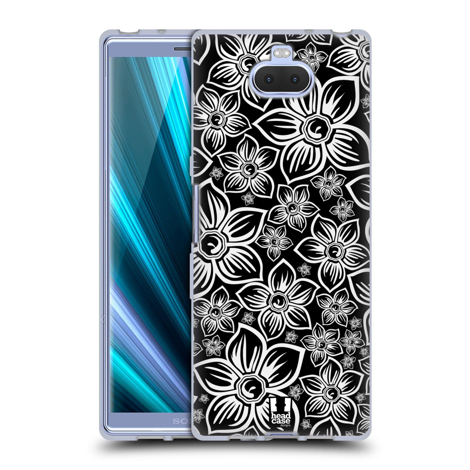 Silikonové pouzdro na mobil Sony Xperia 10 - Head Case - FLORAL DAISY