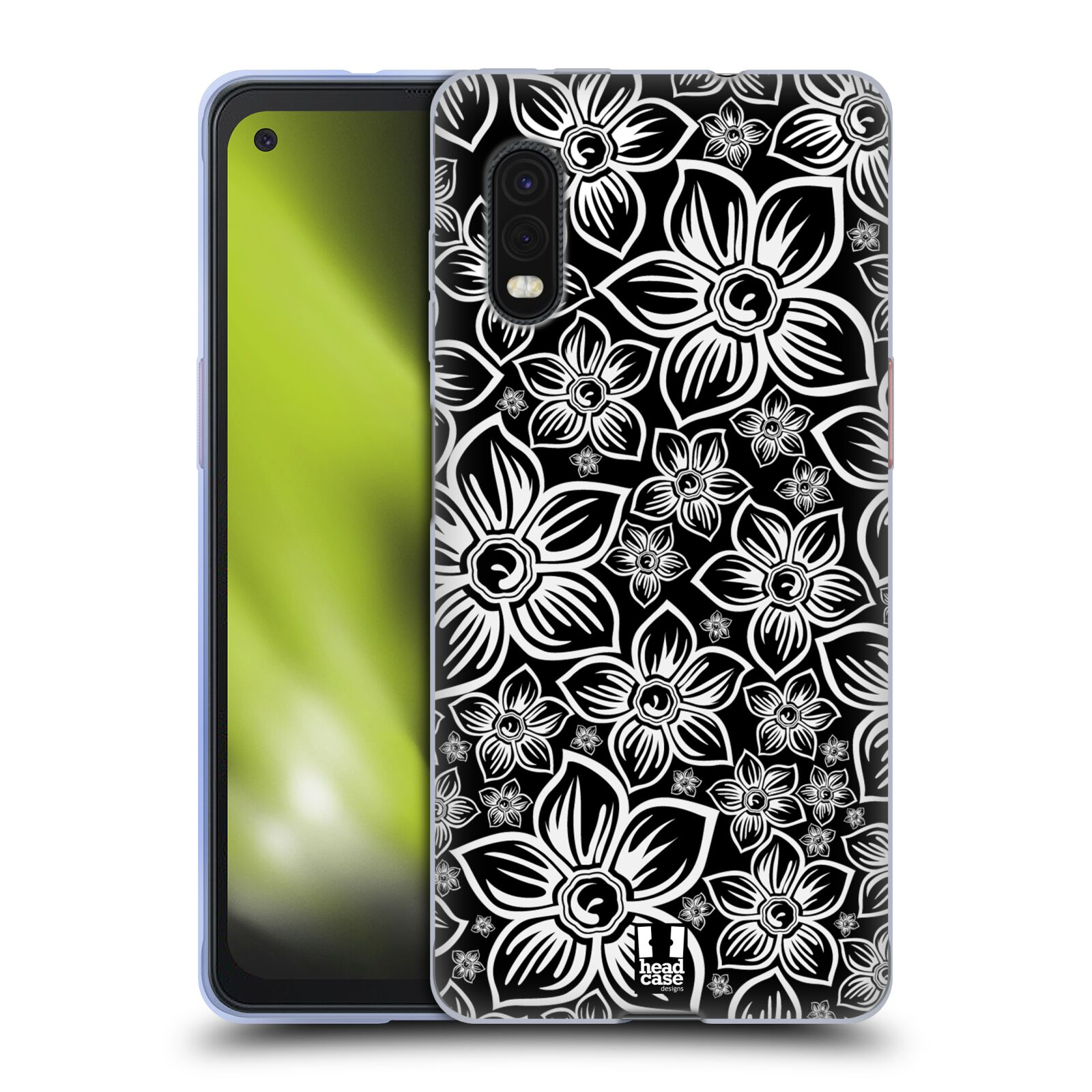 Silikonové pouzdro na mobil Samsung Galaxy Xcover Pro - Head Case - FLORAL DAISY