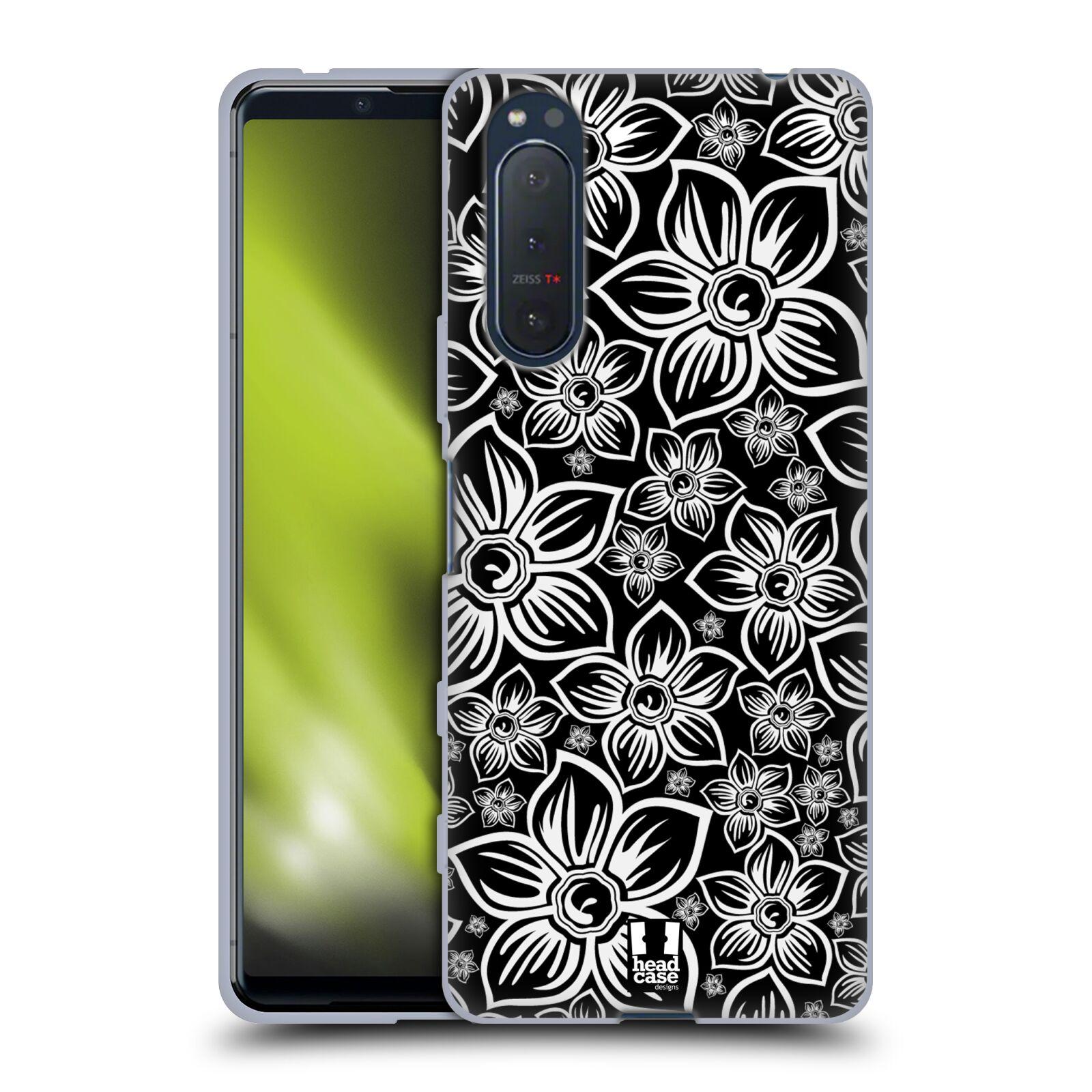 Silikonové pouzdro na mobil Sony Xperia 5 II - Head Case - FLORAL DAISY