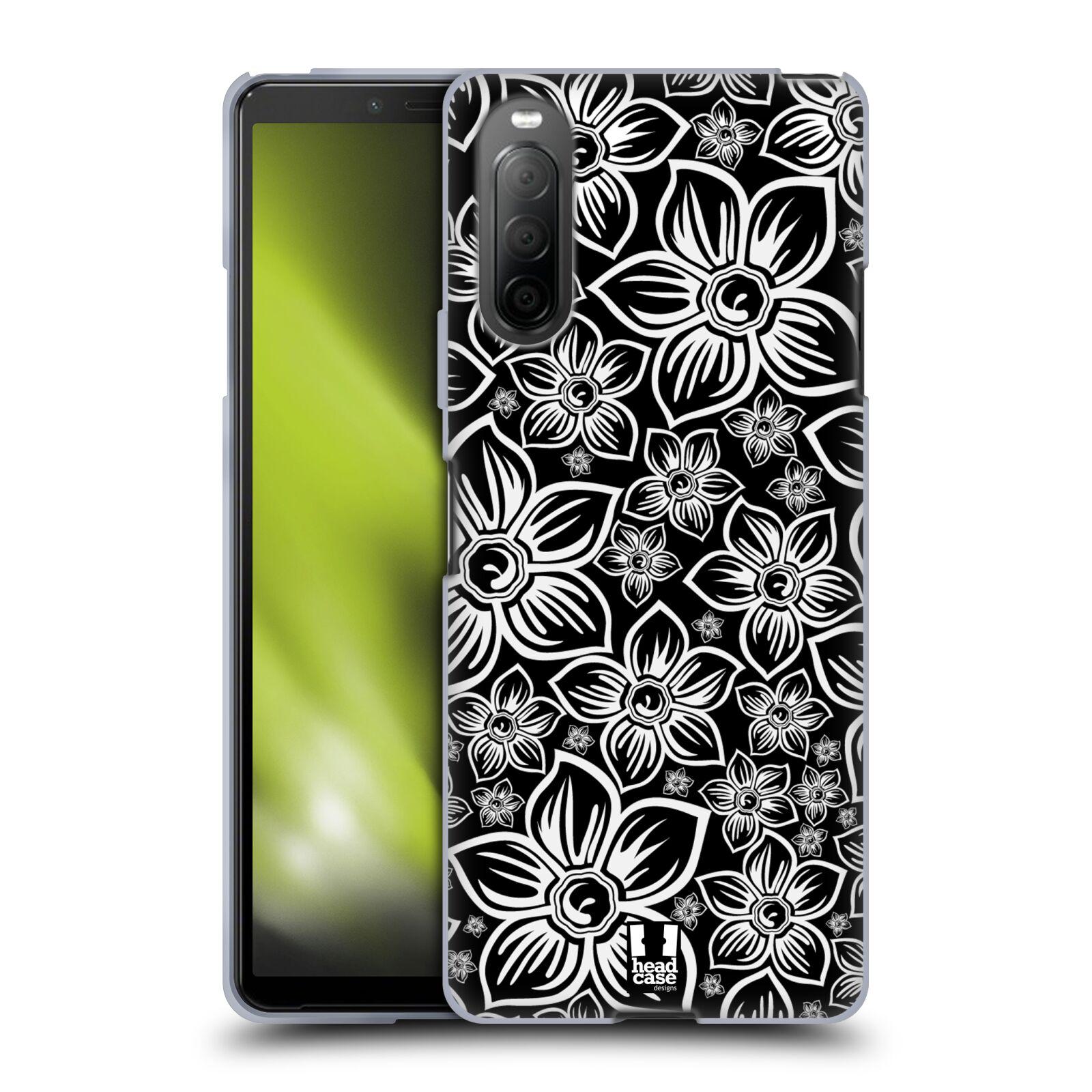 Silikonové pouzdro na mobil Sony Xperia 10 II - Head Case - FLORAL DAISY