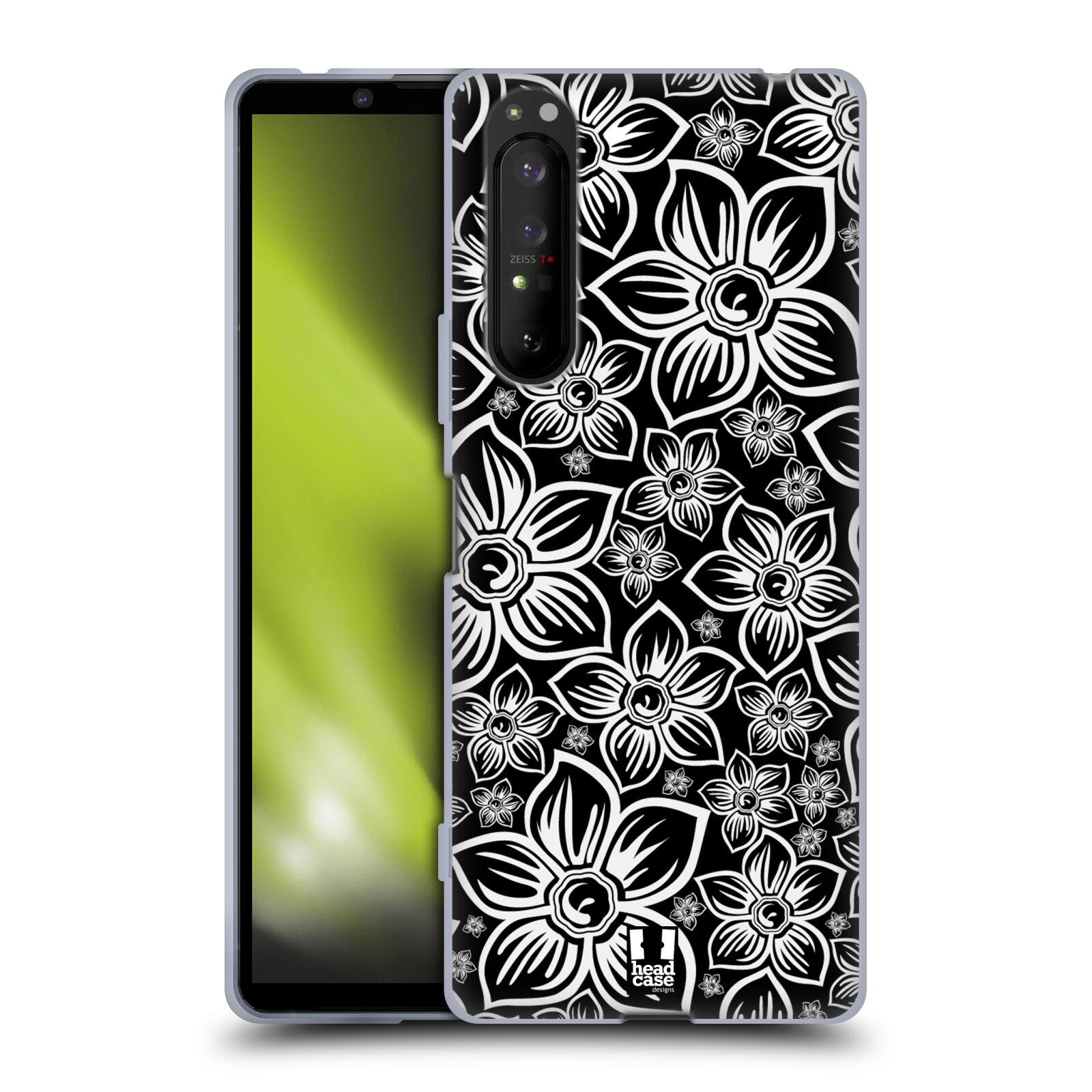 Silikonové pouzdro na mobil Sony Xperia 1 II - Head Case - FLORAL DAISY