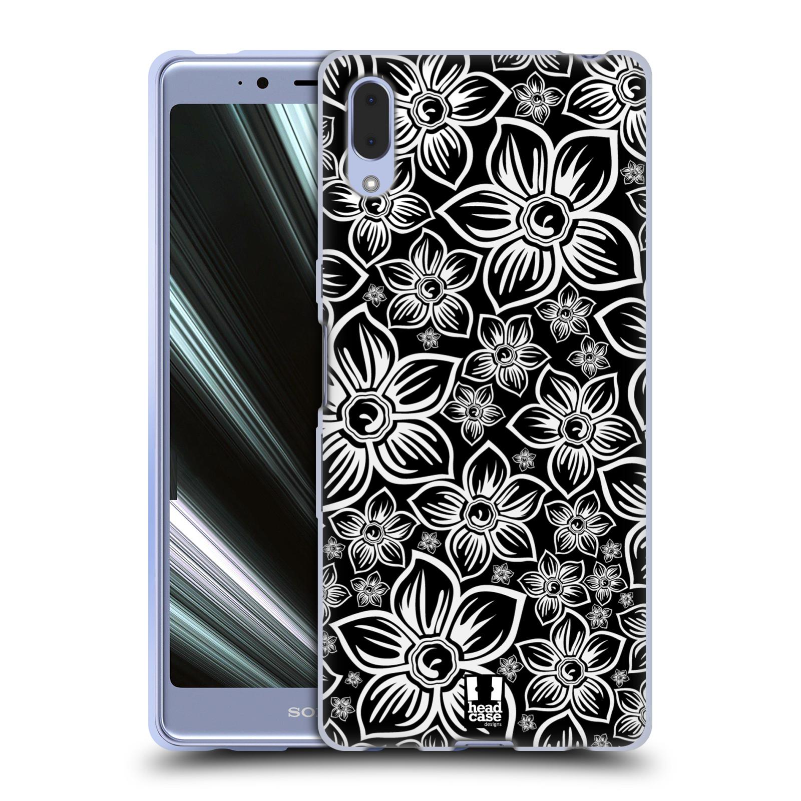 Silikonové pouzdro na mobil Sony Xperia L3 - Head Case - FLORAL DAISY