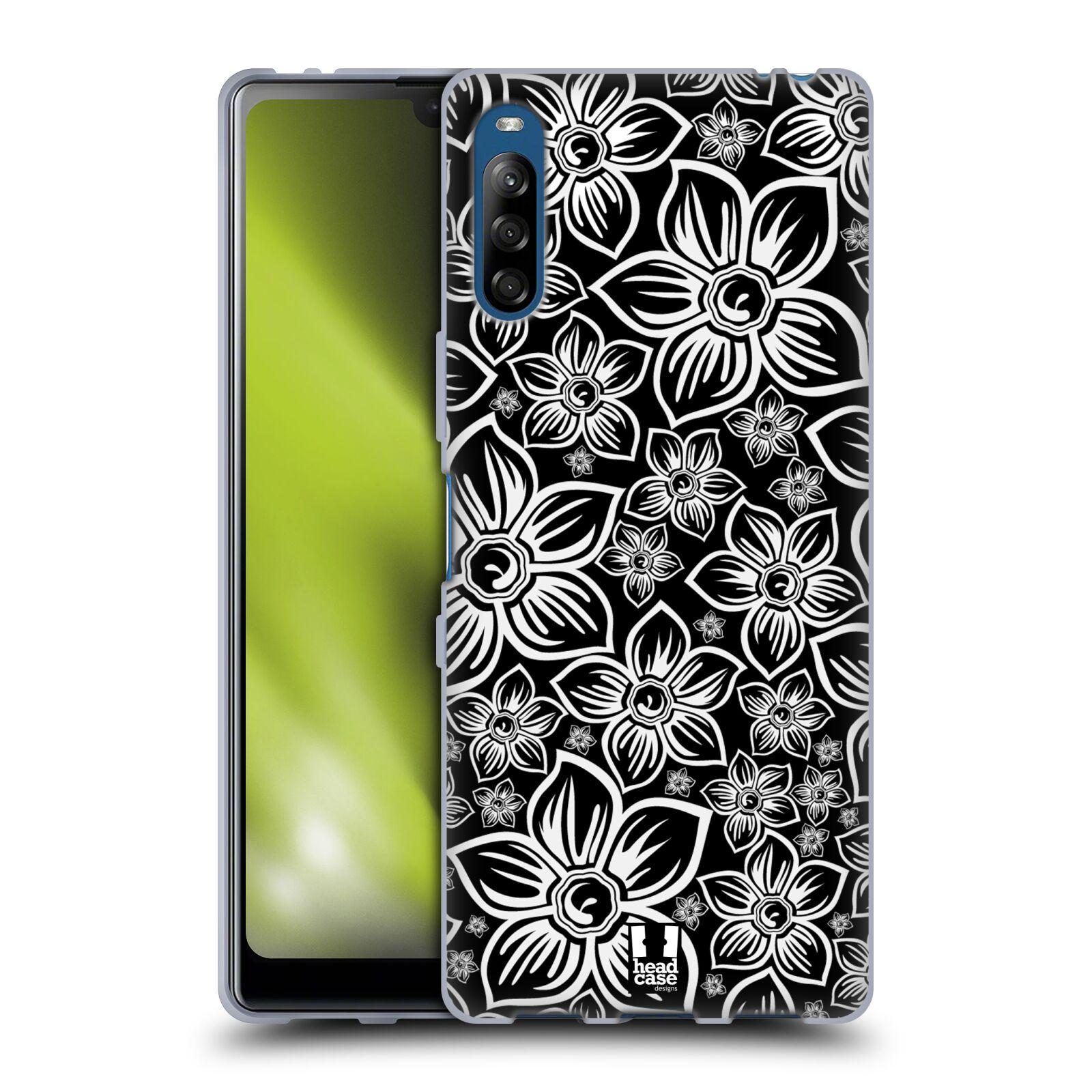 Silikonové pouzdro na mobil Sony Xperia L4 - Head Case - FLORAL DAISY