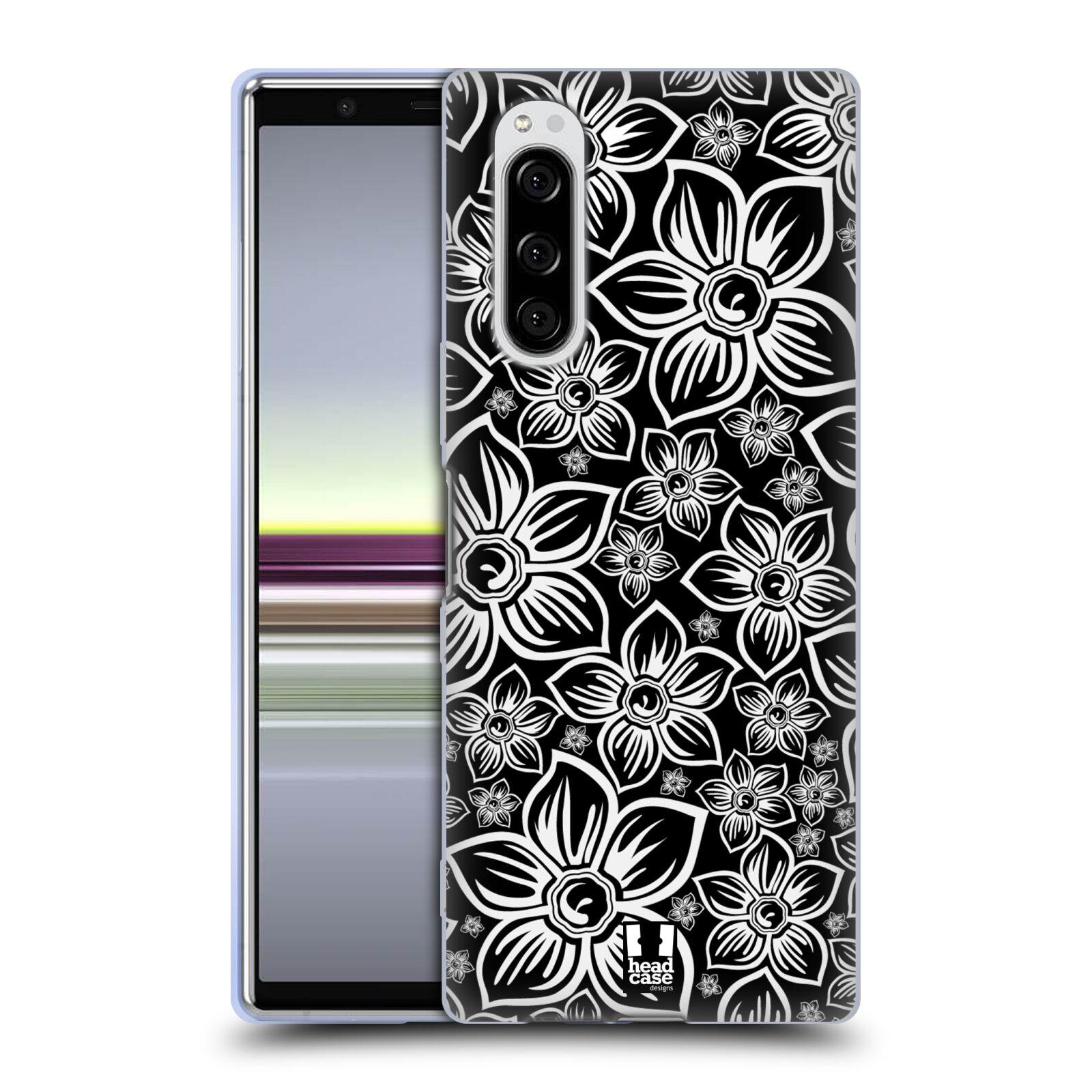 Silikonové pouzdro na mobil Sony Xperia 5 - Head Case - FLORAL DAISY