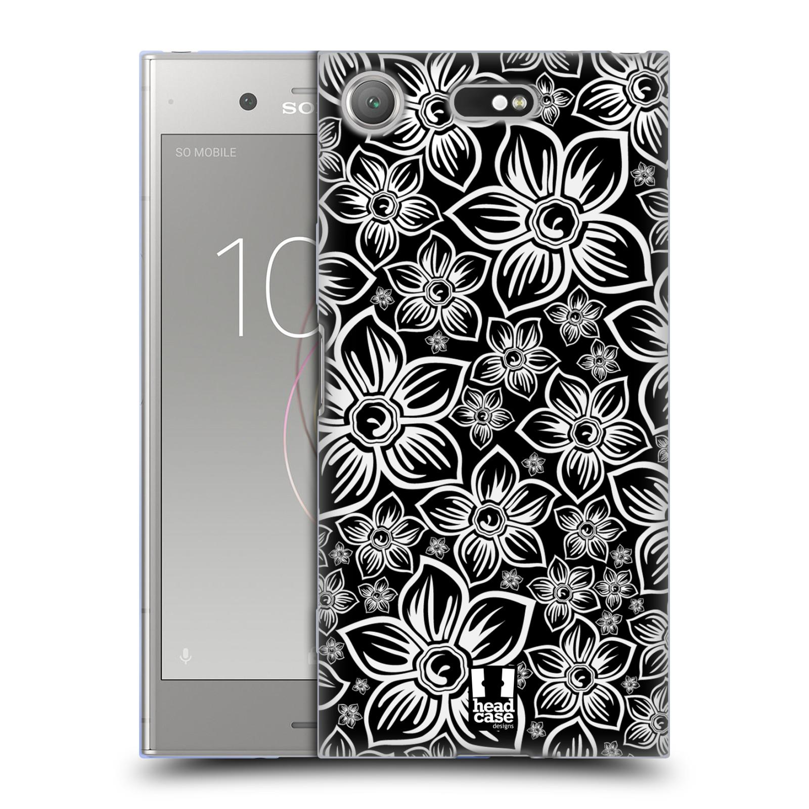 Silikonové pouzdro na mobil Sony Xperia XZ1 Compact - Head Case - FLORAL DAISY