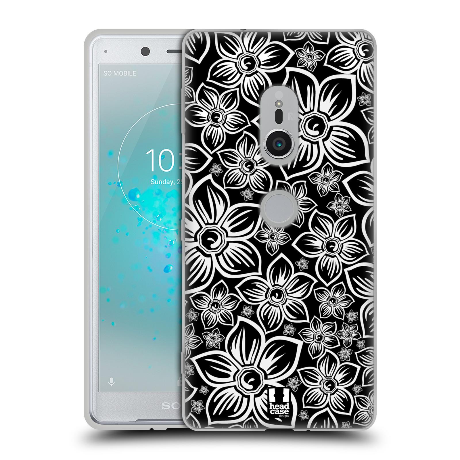 Silikonové pouzdro na mobil Sony Xperia XZ2 - Head Case - FLORAL DAISY