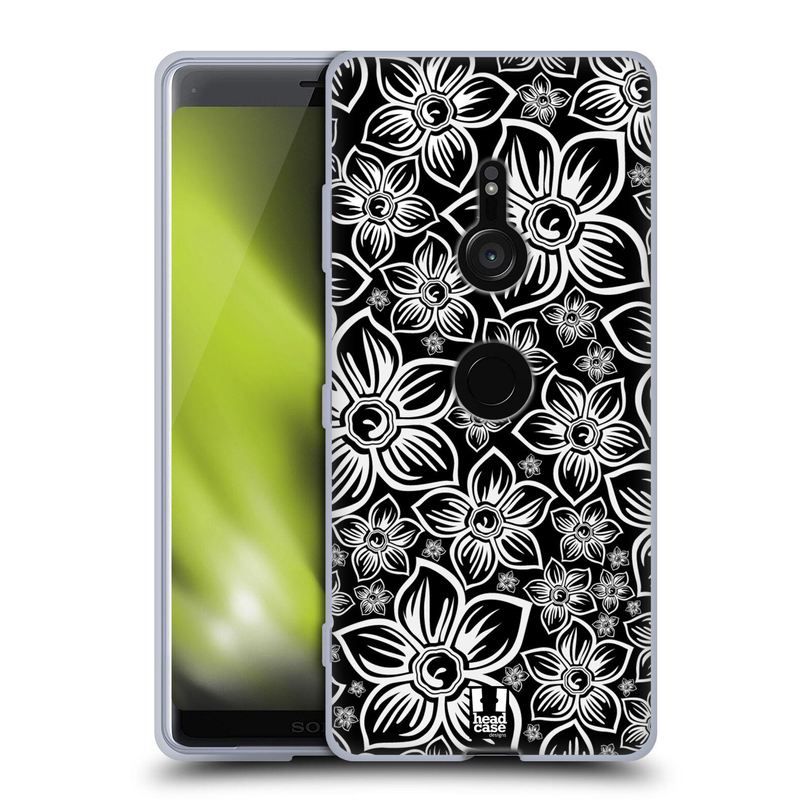 Silikonové pouzdro na mobil Sony Xperia XZ3 - Head Case - FLORAL DAISY