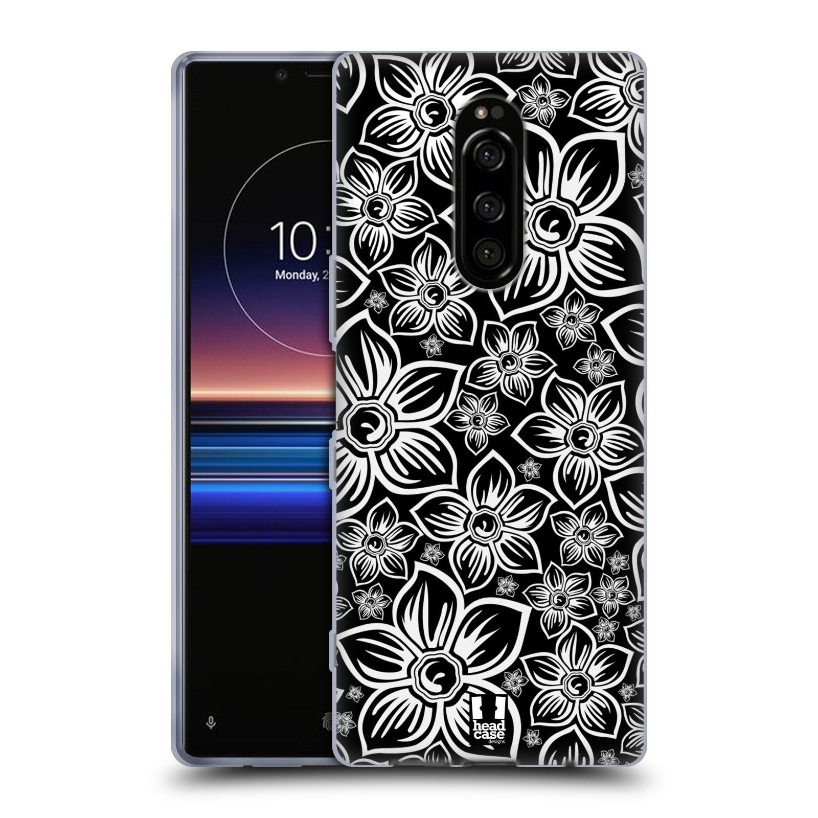 Silikonové pouzdro na mobil Sony Xperia 1 - Head Case - FLORAL DAISY